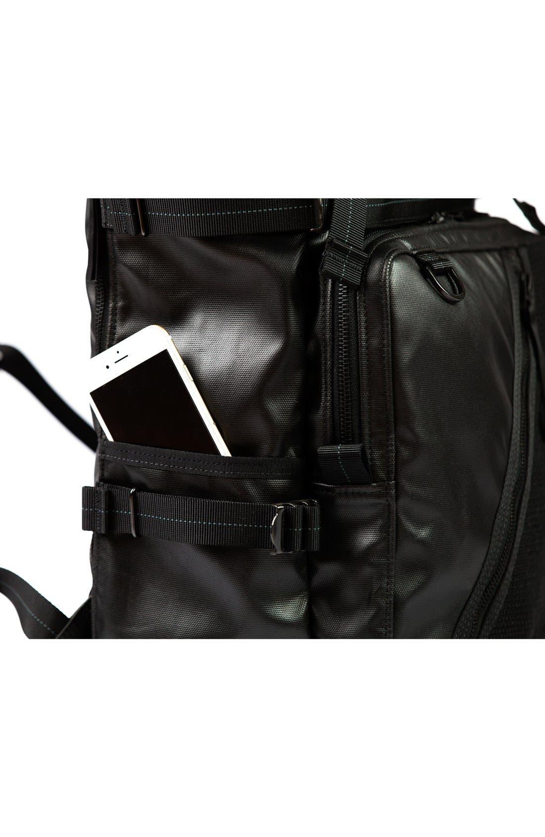 'NightHawk' Backpack,                             Alternate thumbnail 8, color,                             Black