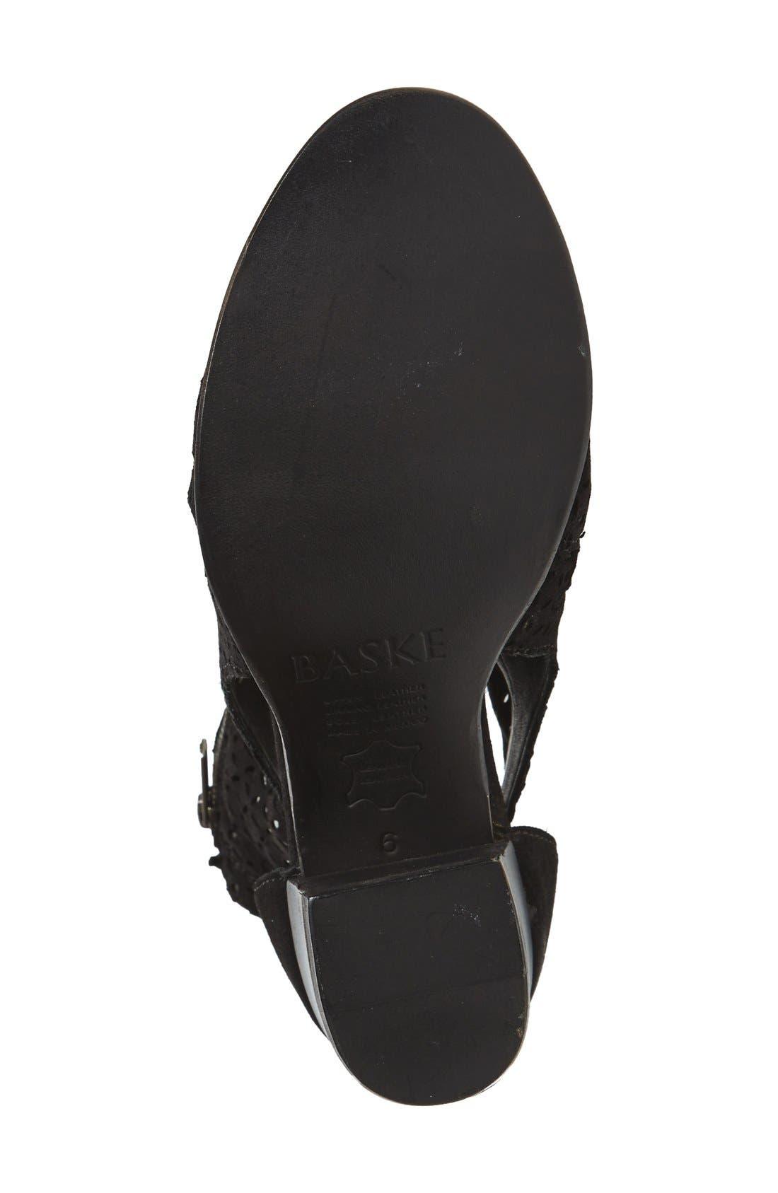 Alternate Image 4  - BASKE California 'Aura' Open Toe Bootie (Women)