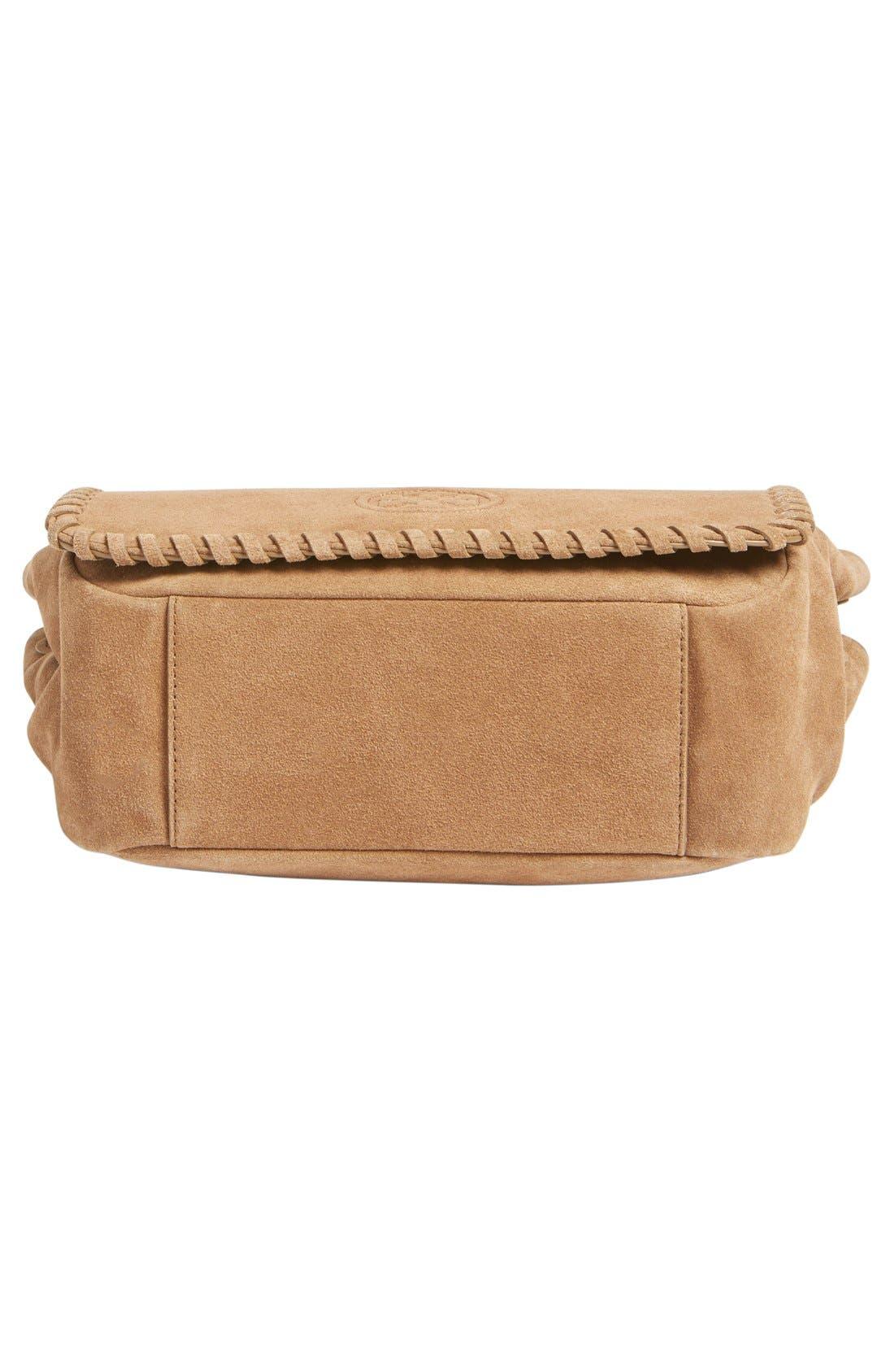 Alternate Image 4  - Tory Burch 'Small Marion' Suede Shoulder Bag
