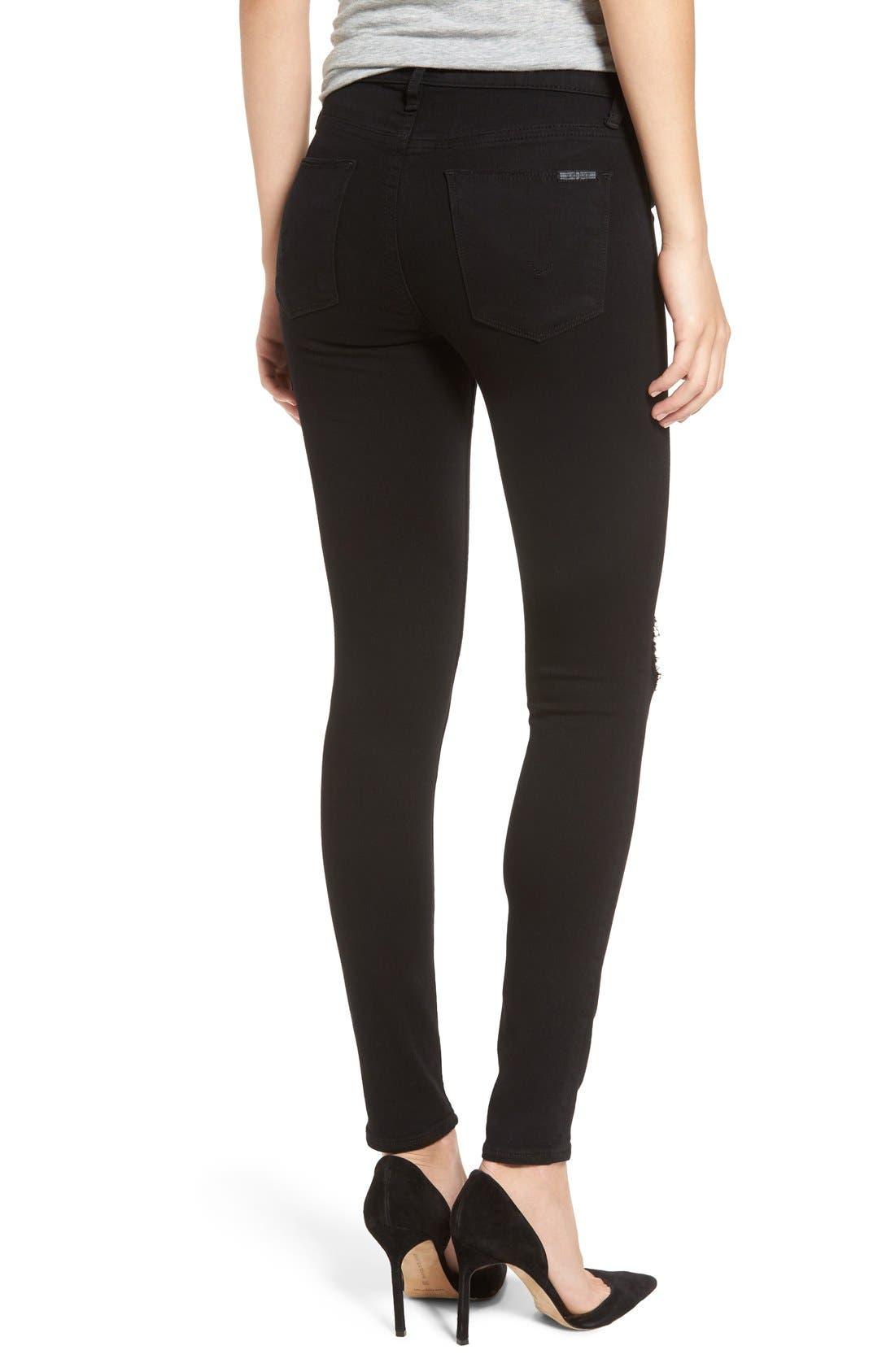 Alternate Image 3  - Hudson Jeans 'Nico' Skinny Jeans (Ravage)