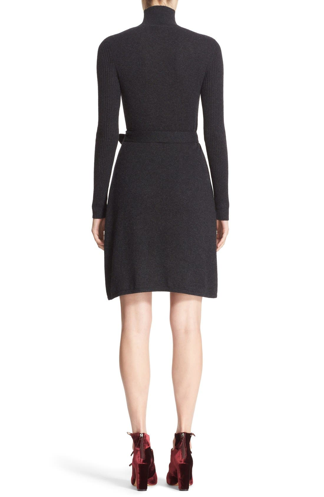 Alternate Image 2  - Diane von Furstenberg 'Janeva' Wool & Cashmere Wrap Dress