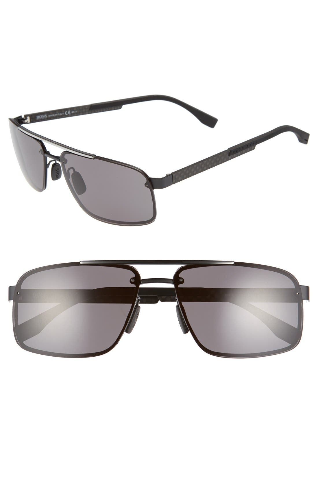 '0773/S' 60mm Sunglasses,                             Main thumbnail 1, color,                             Black Crystal Brown