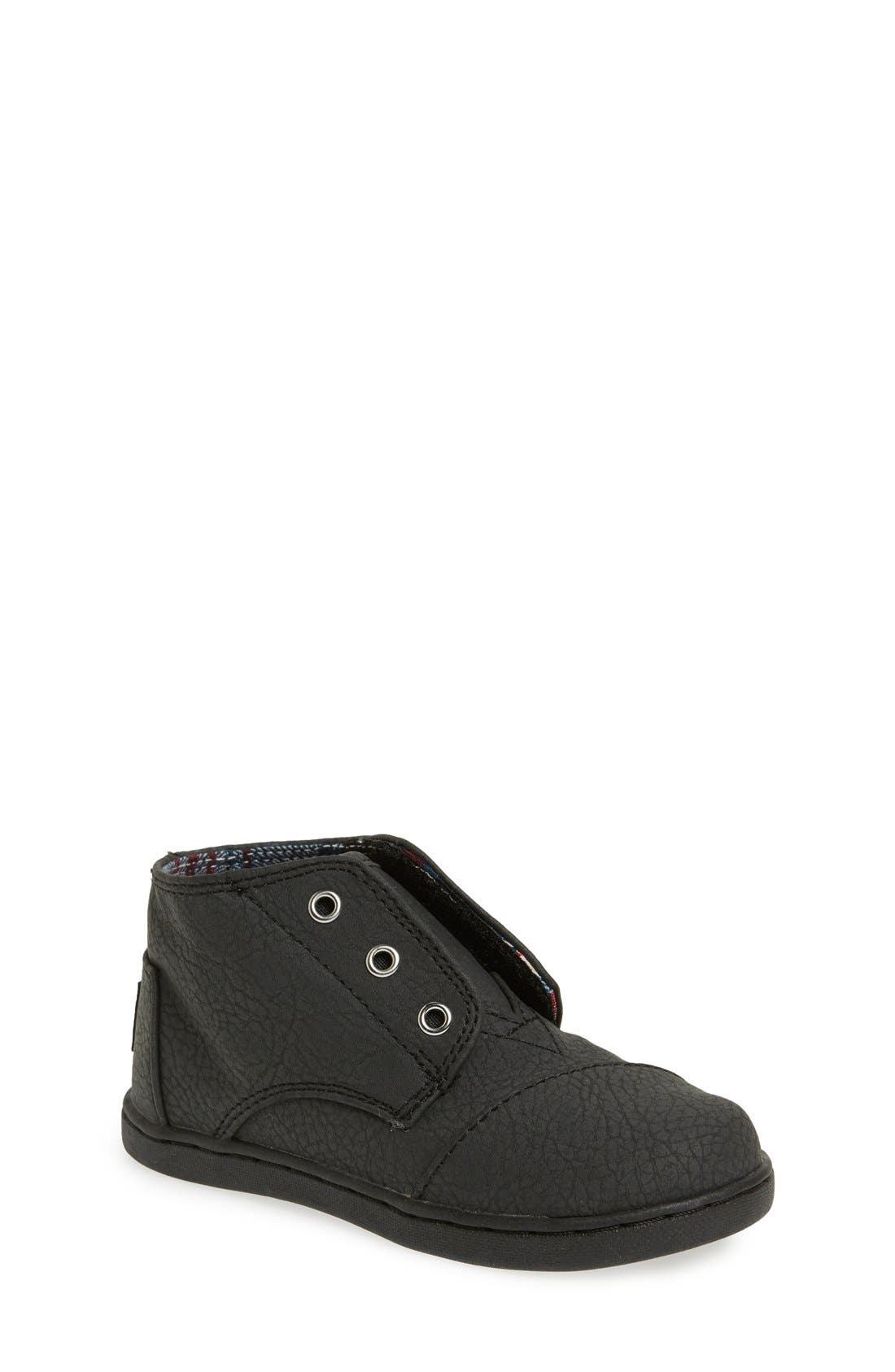 Alternate Image 1 Selected - TOMS 'Paseo - Tiny' Mid Bootie (Baby, Walker & Toddler)