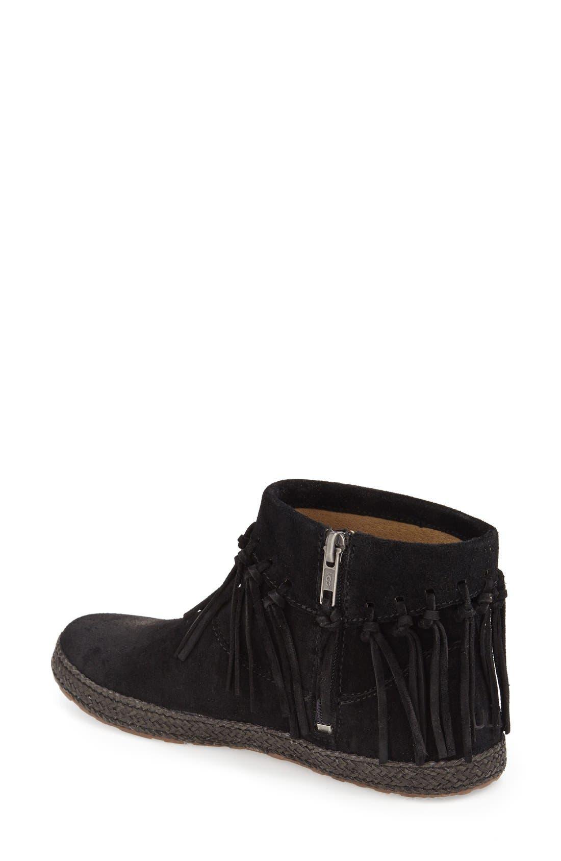 Alternate Image 2  - UGG® 'Shenendoah' Fringe Ankle Boot (Women)