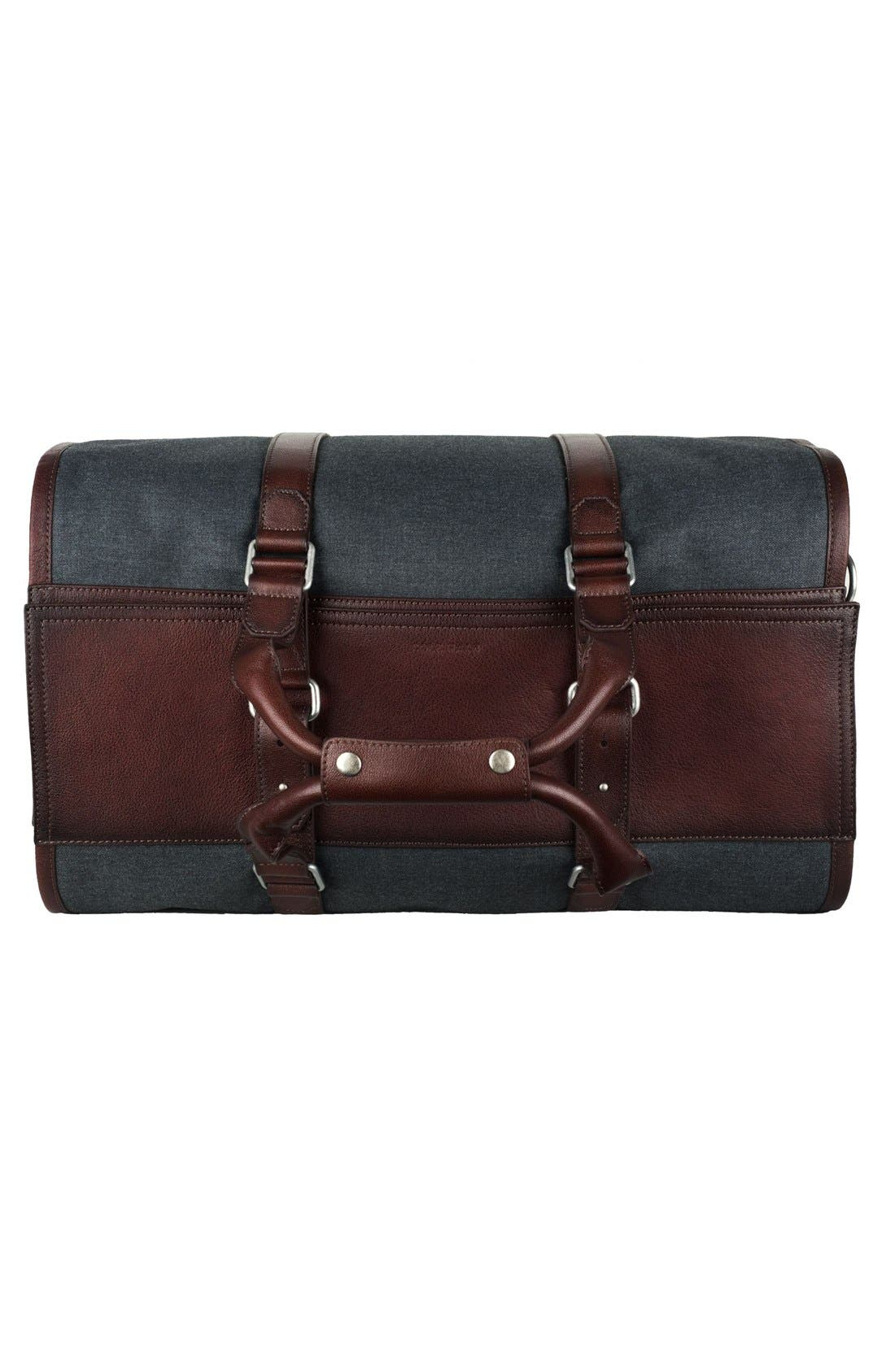 'Grafton' Duffel Bag,                             Alternate thumbnail 5, color,                             Grey