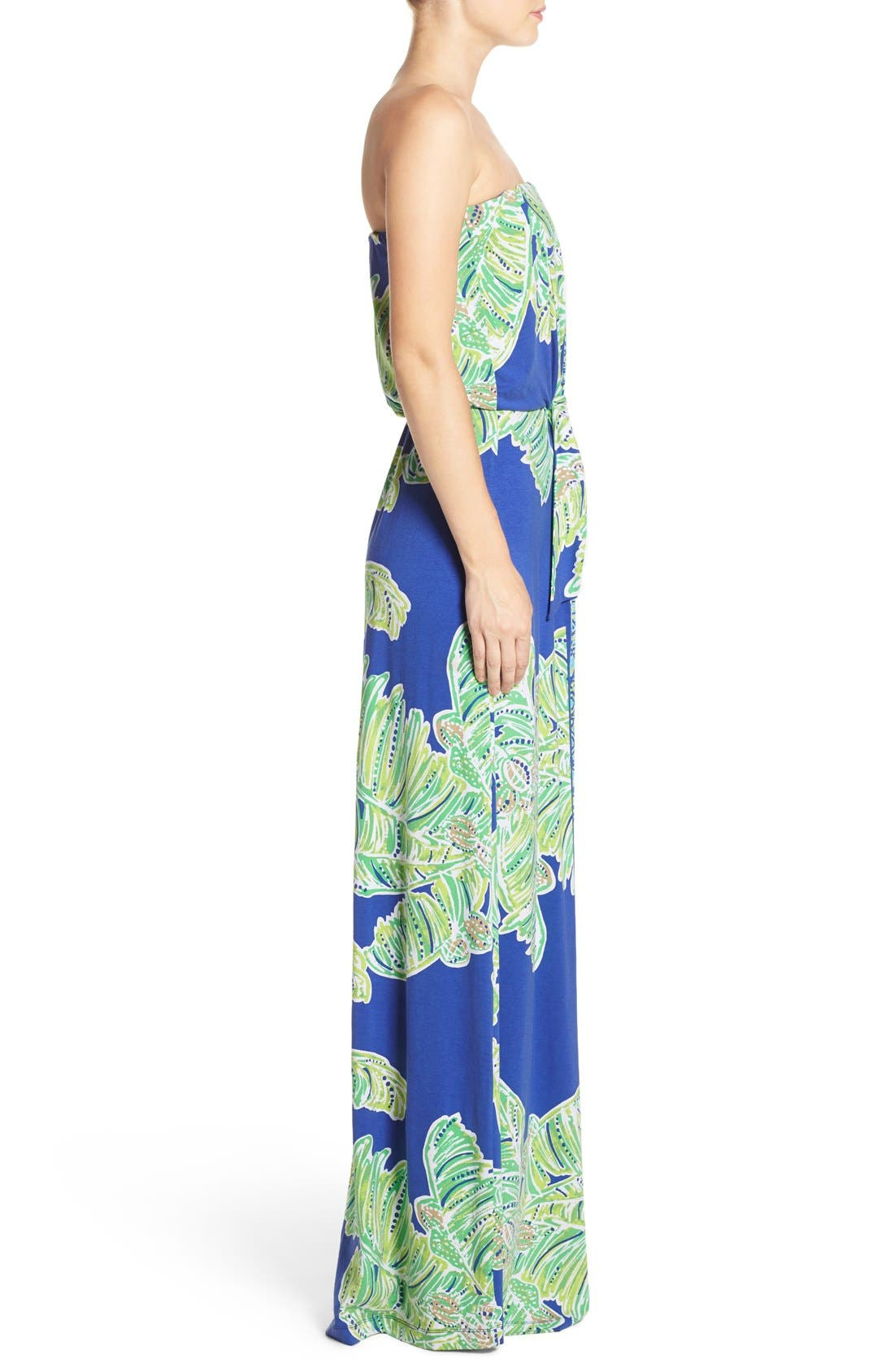 Alternate Image 3  - Lilly Pulitzer® 'Rosalina' Strapless Maxi Dress