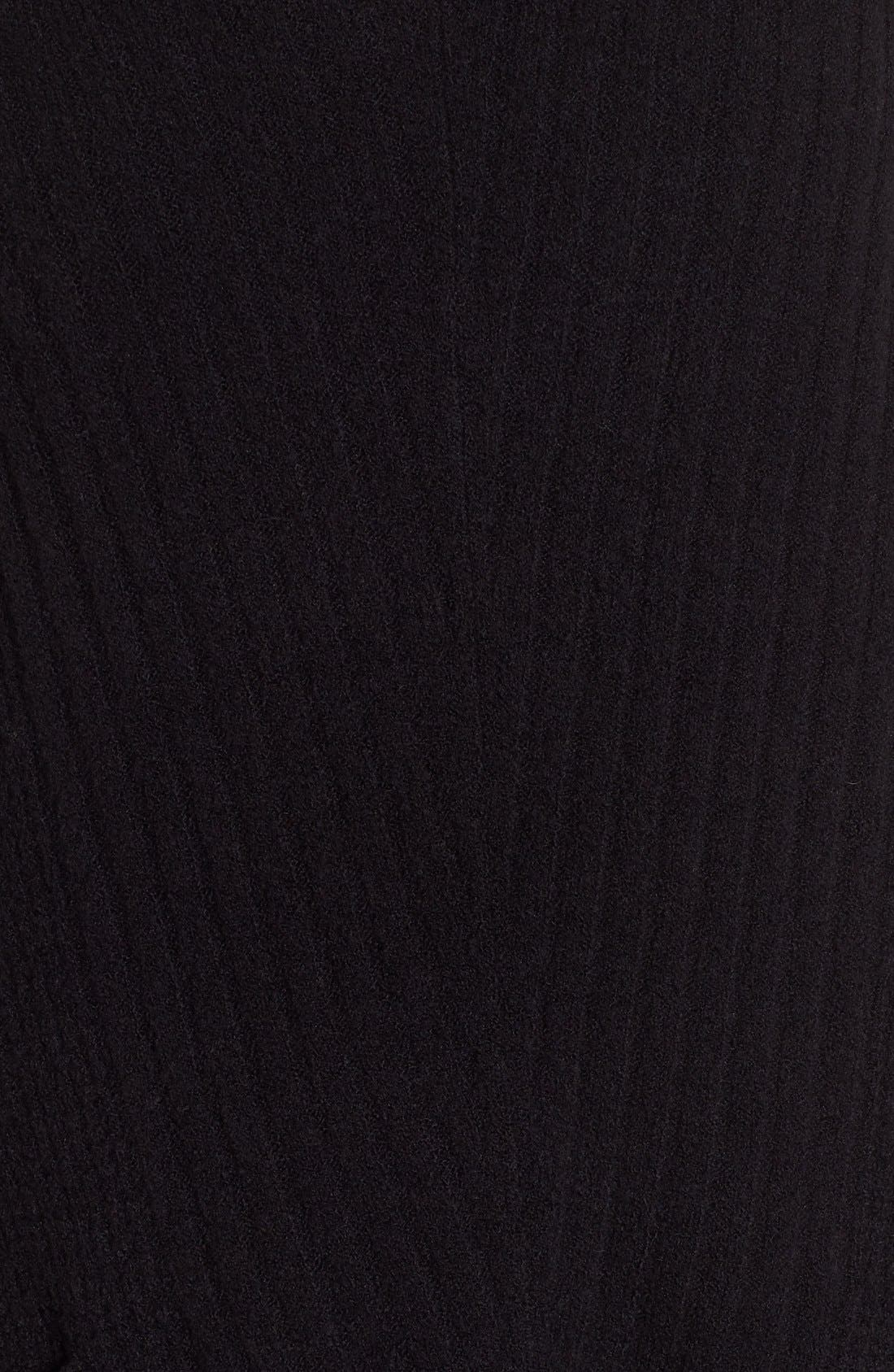 Alternate Image 5  - Caslon® Long Shark Bite Hem Sweater (Regular & Petite)