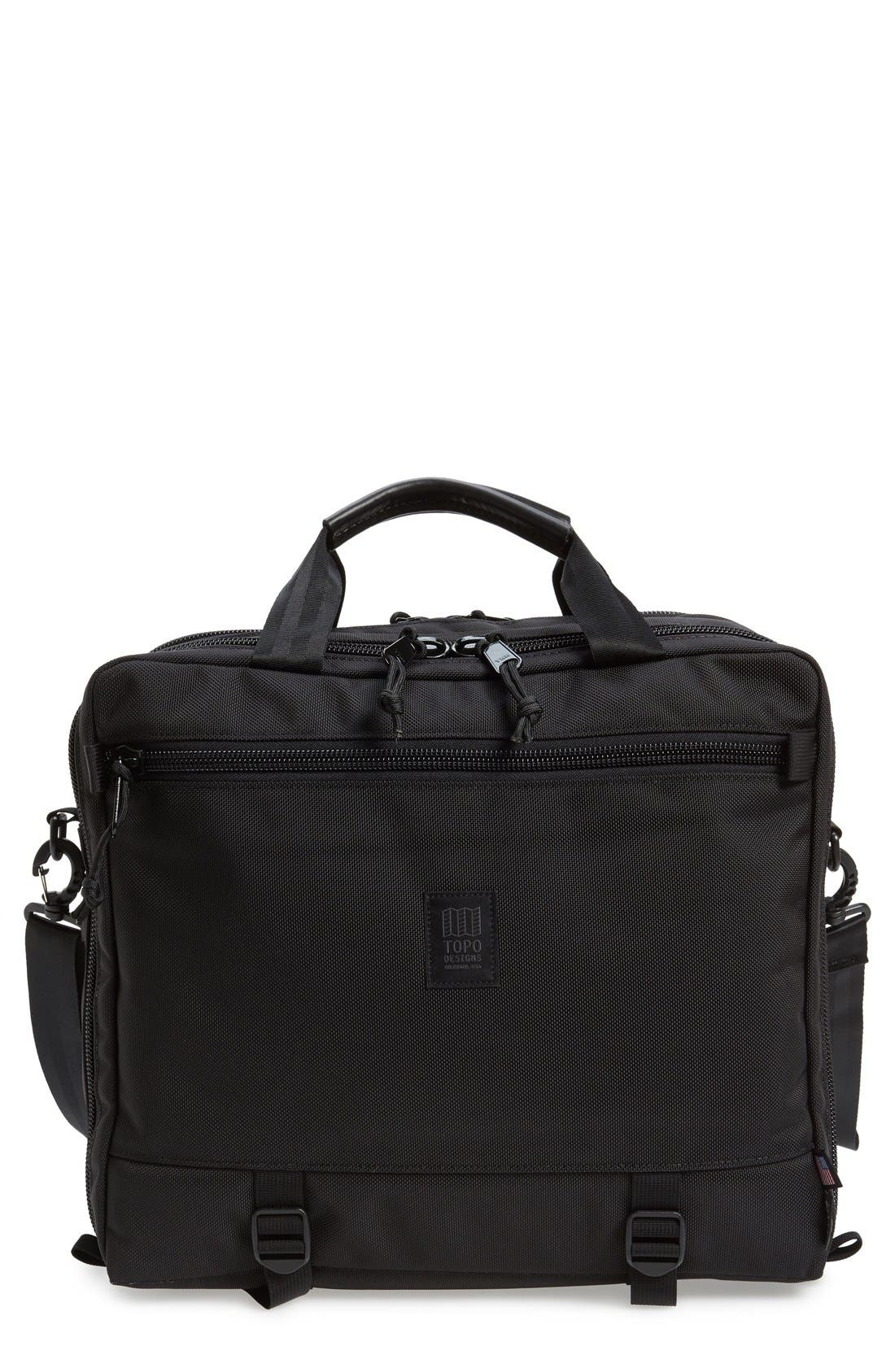 TOPO DESIGNS '3-DAY' BRIEFCASE - BLACK