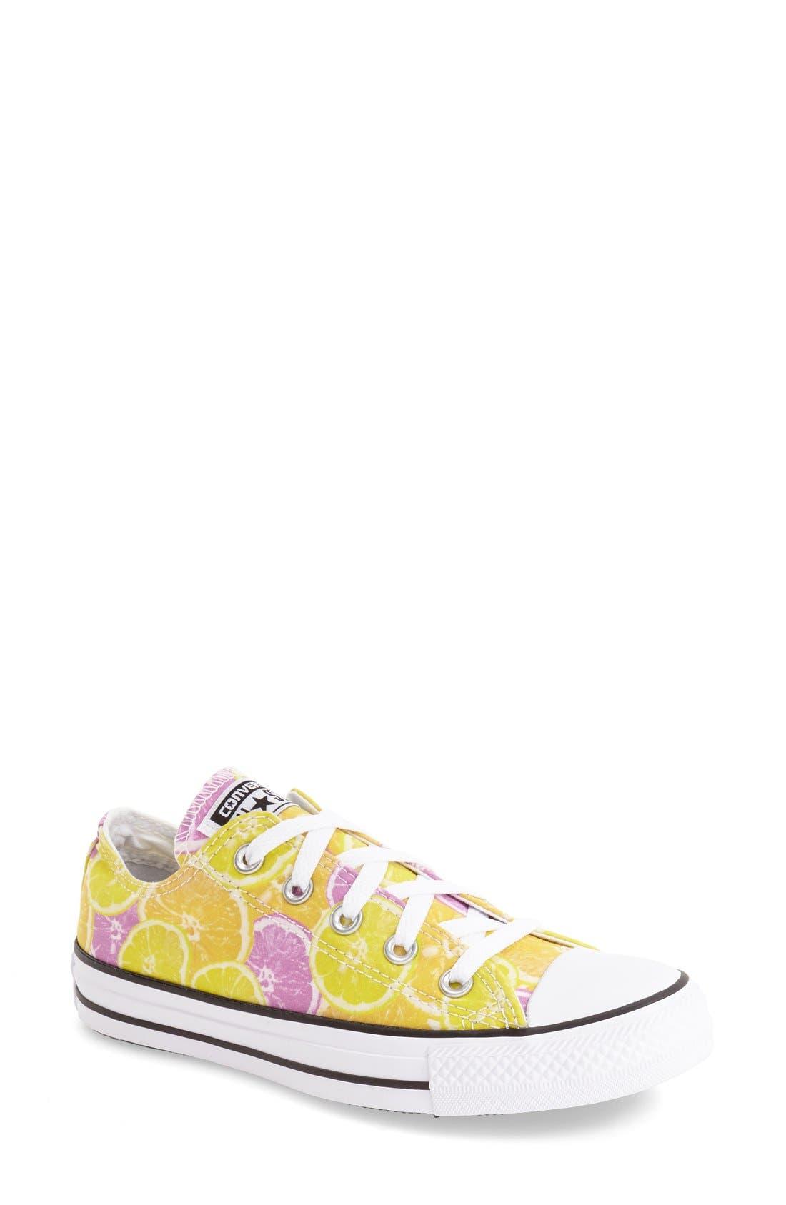 Main Image - Converse Chuck Taylor® All Star® 'Fruit - Ox' Sneaker (Women)