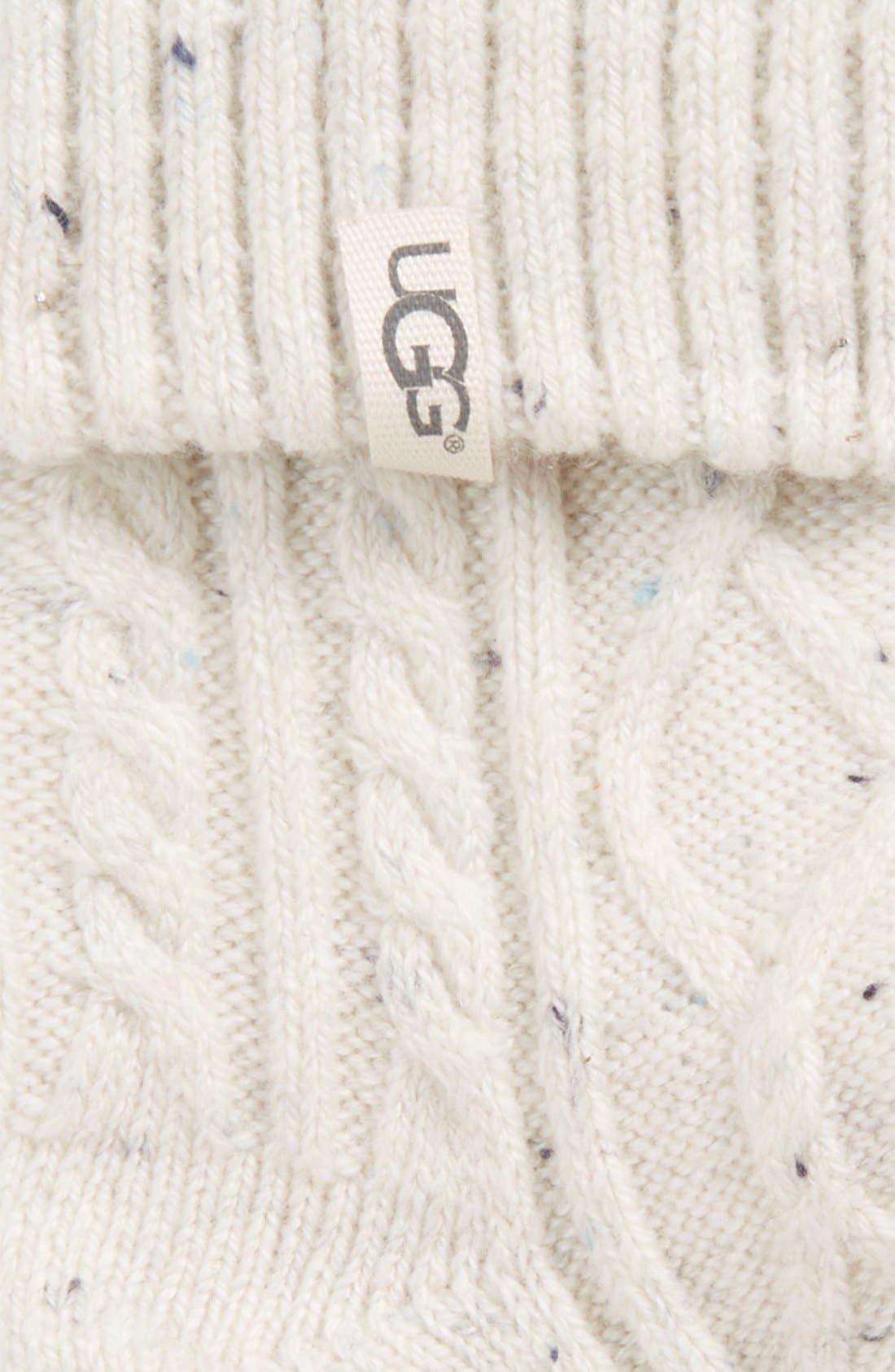 'Sienna' Short Boot Sock,                             Alternate thumbnail 2, color,                             Freshwater Pearl Fabric