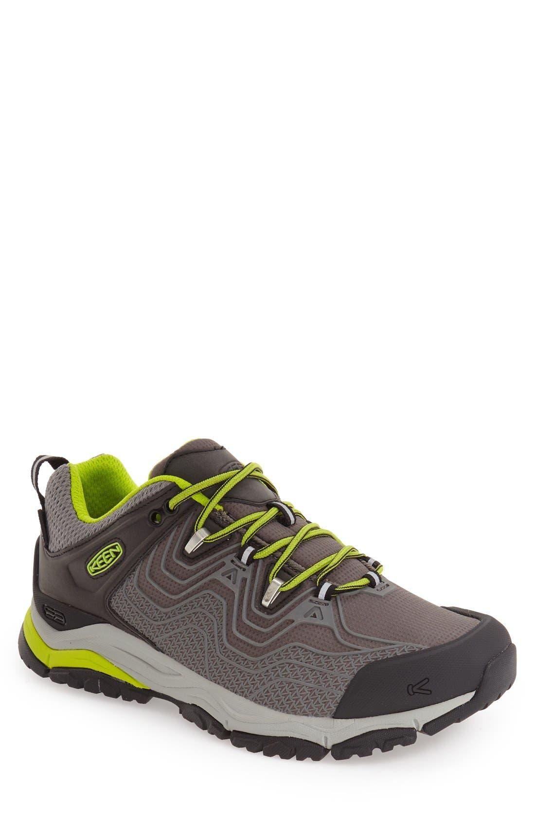 Alternate Image 1 Selected - Keen 'Aphlex' Waterproof Low Profile Hiking Shoe (Men)