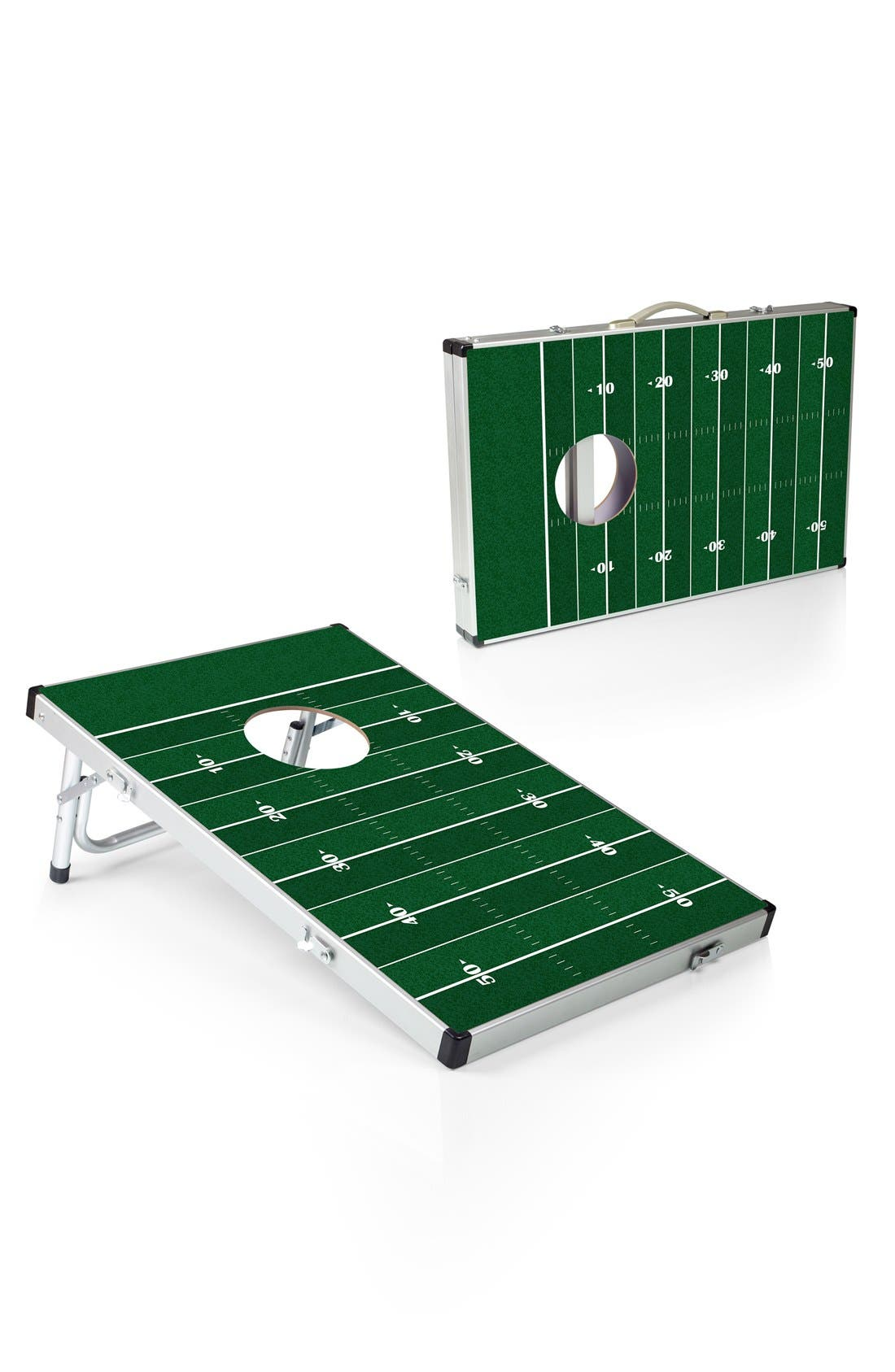 'Football' Bean Bag Toss Game,                             Alternate thumbnail 3, color,                             Green