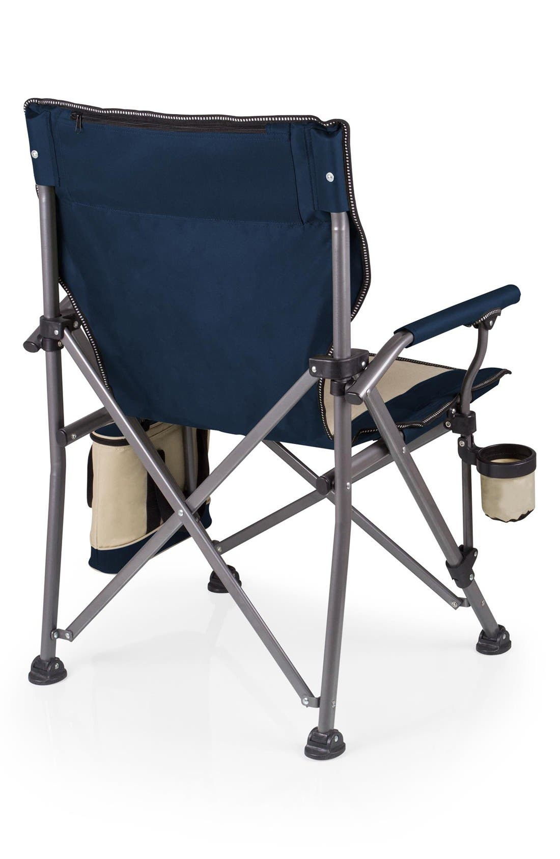 'Outlander' Camp Chair,                             Alternate thumbnail 3, color,                             Blue