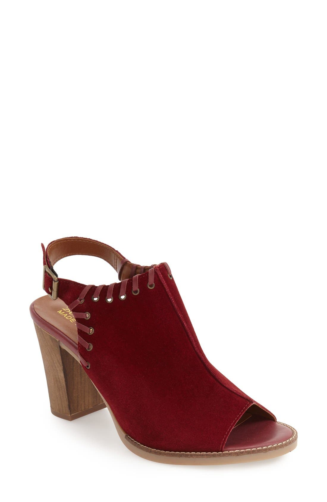 BELLA VITA Ora Block Heel Slingback Sandal