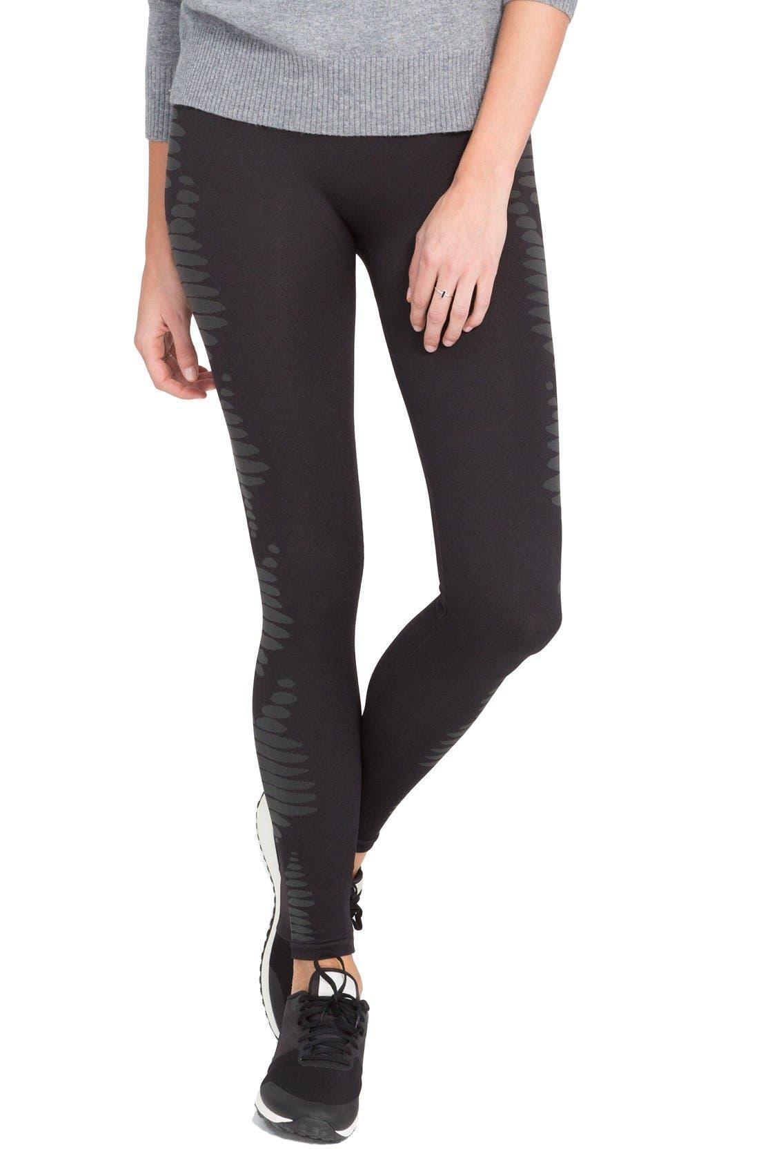 Alternate Image 1 Selected - SPANX® 'Aztec Stripe' Leggings