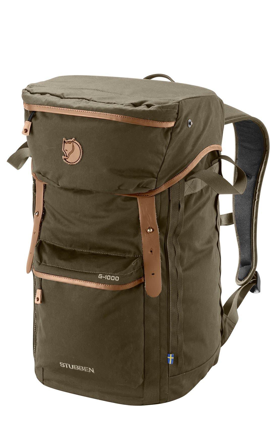 'Stubben' Backpack,                             Main thumbnail 1, color,                             Dark Olive