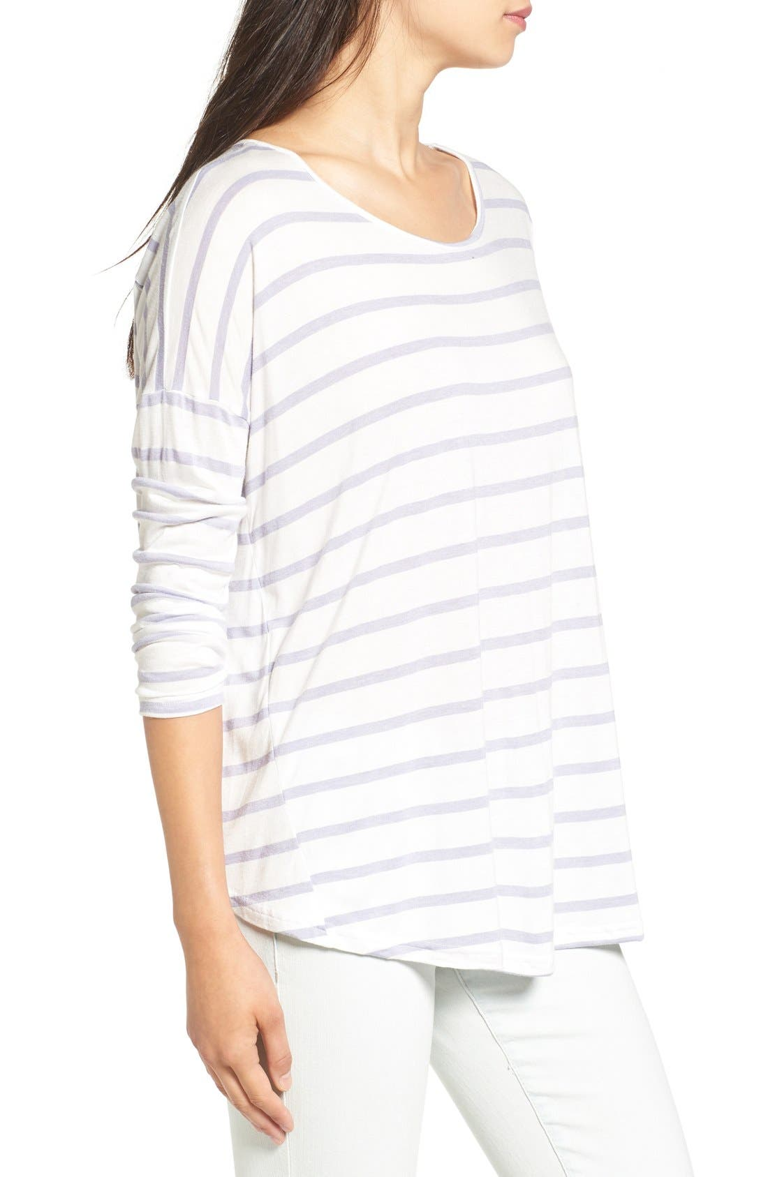 Alternate Image 3  - Billabong 'Change the World' Stripe Long Sleeve Tee
