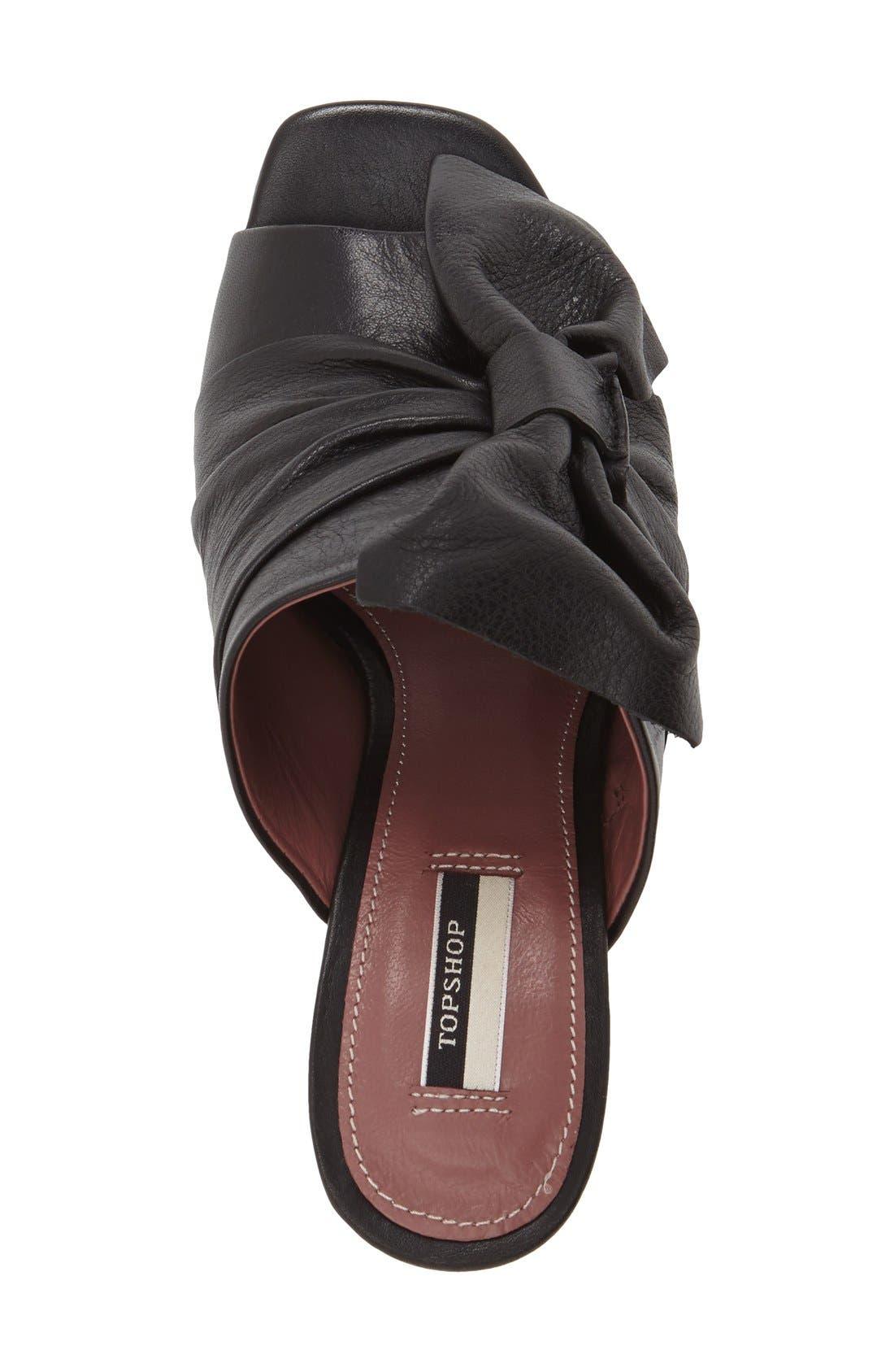Alternate Image 3  - Topshop 'Prosecco' Square Toe Mule (Women)
