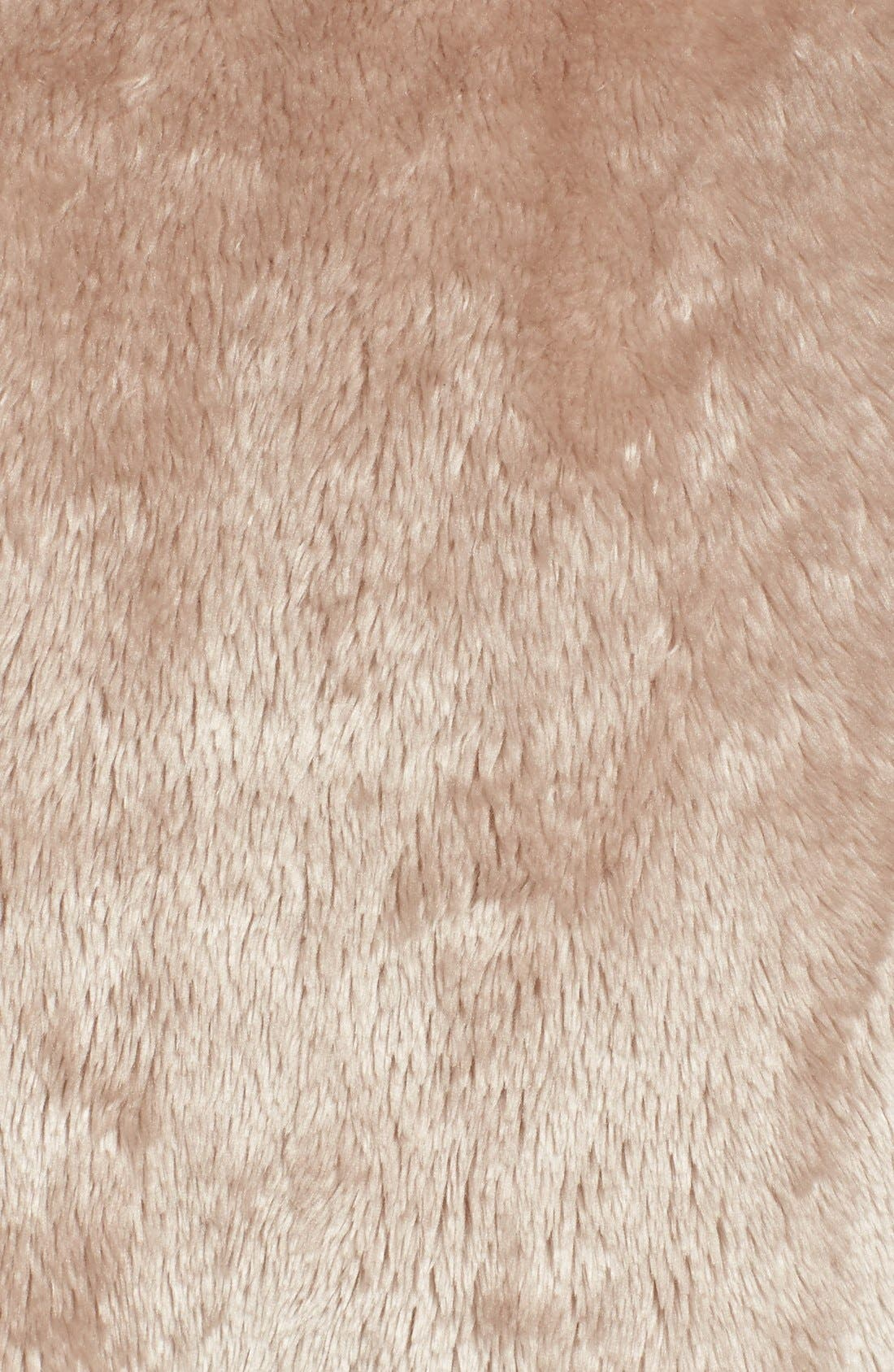 Frosted Plush Robe,                             Alternate thumbnail 5, color,                             Brown