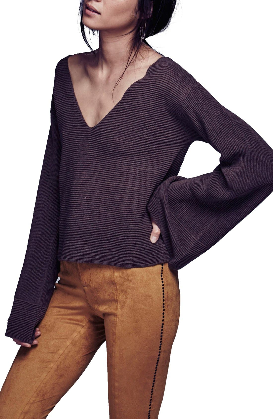 Alternate Image 2  - Free People 'Starman' Rib Knit Pullover