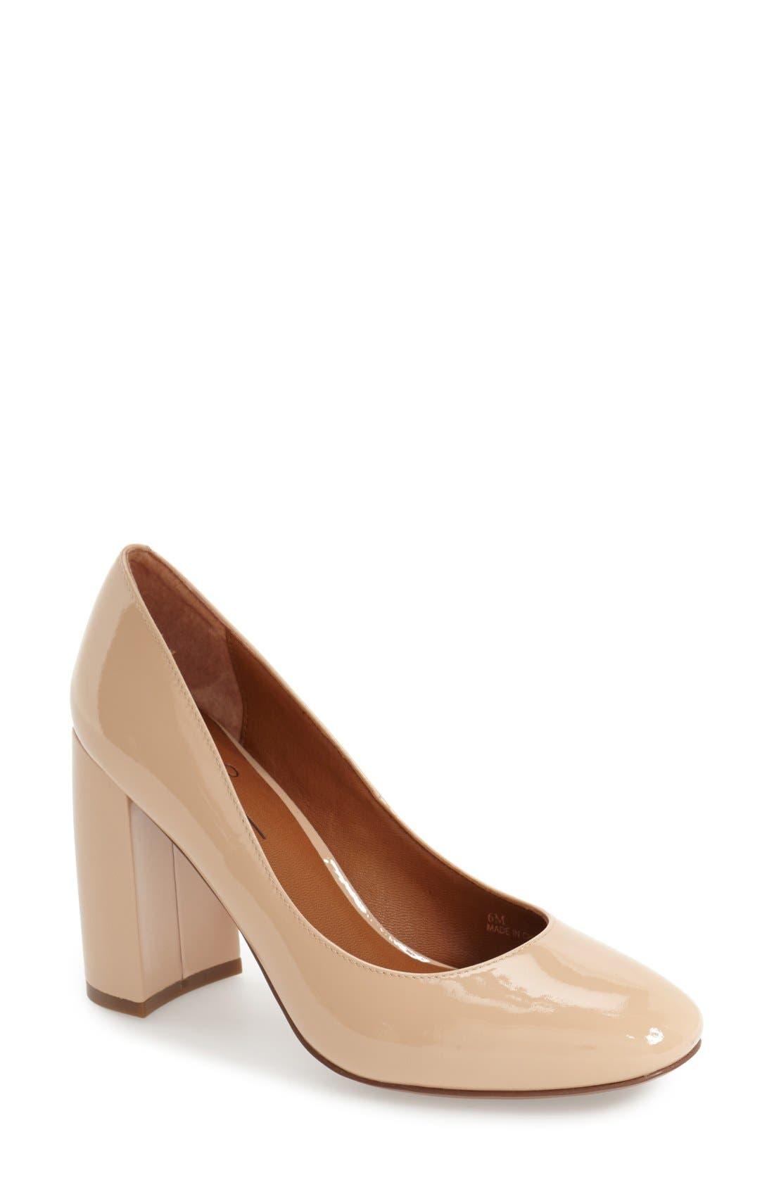 Linea Paolo 'Brooke' Block Heel Pump (Women)