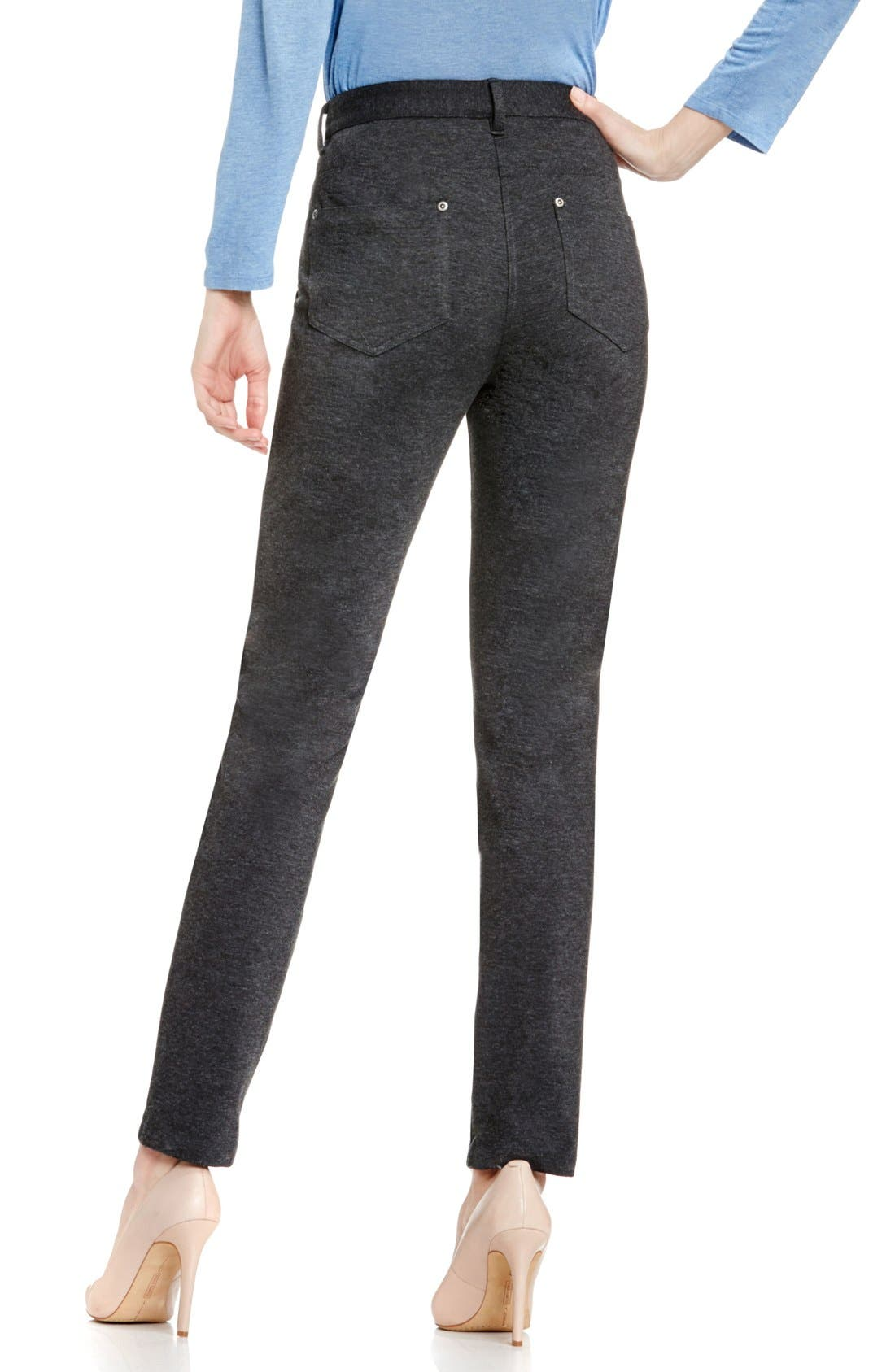 Alternate Image 3  - Two by Vince Camuto Skinny Ponte Pants (Petite)