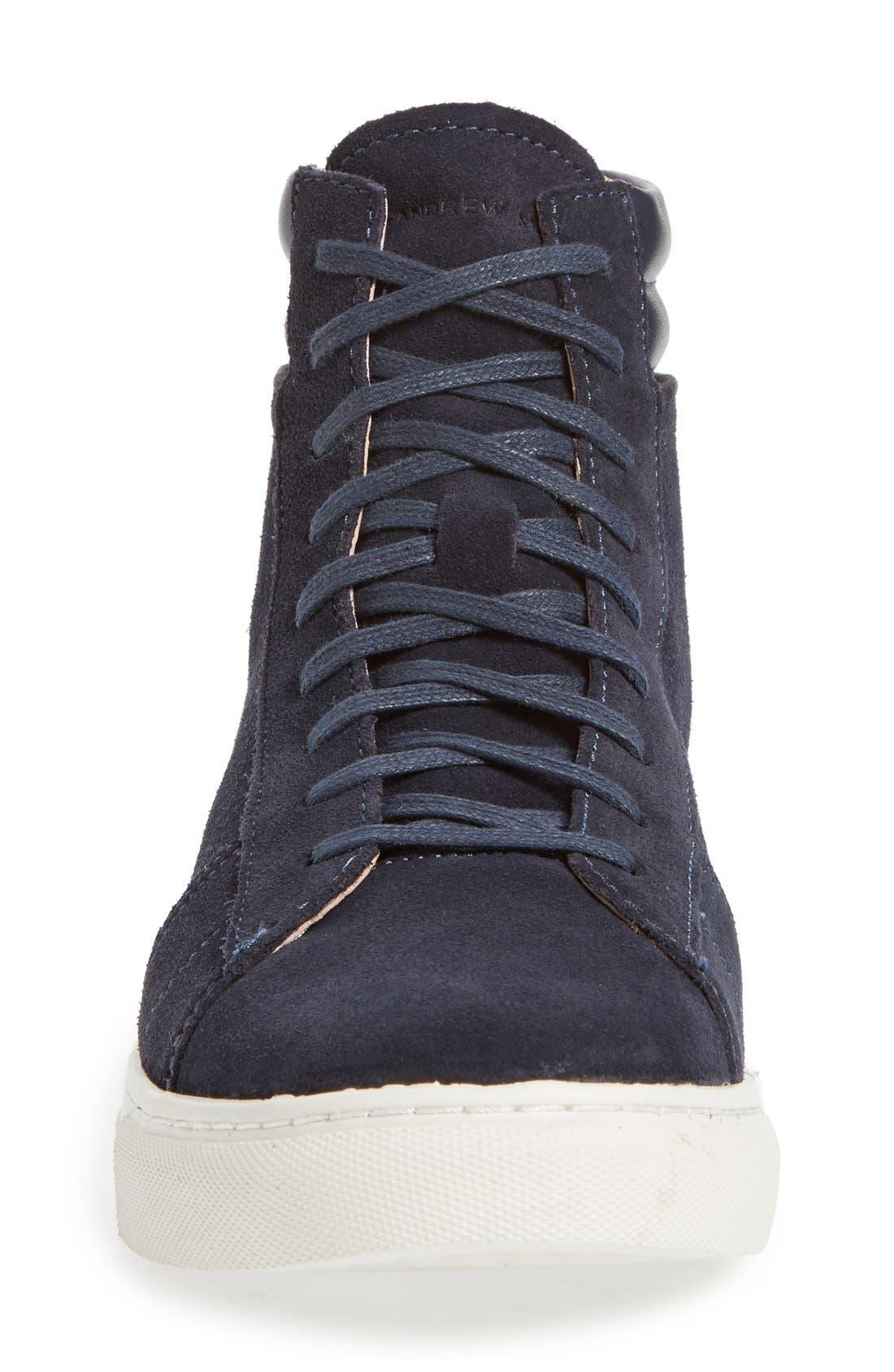 Alternate Image 3  - Andrew Marc 'Remsen' High Top Sneaker (Men)
