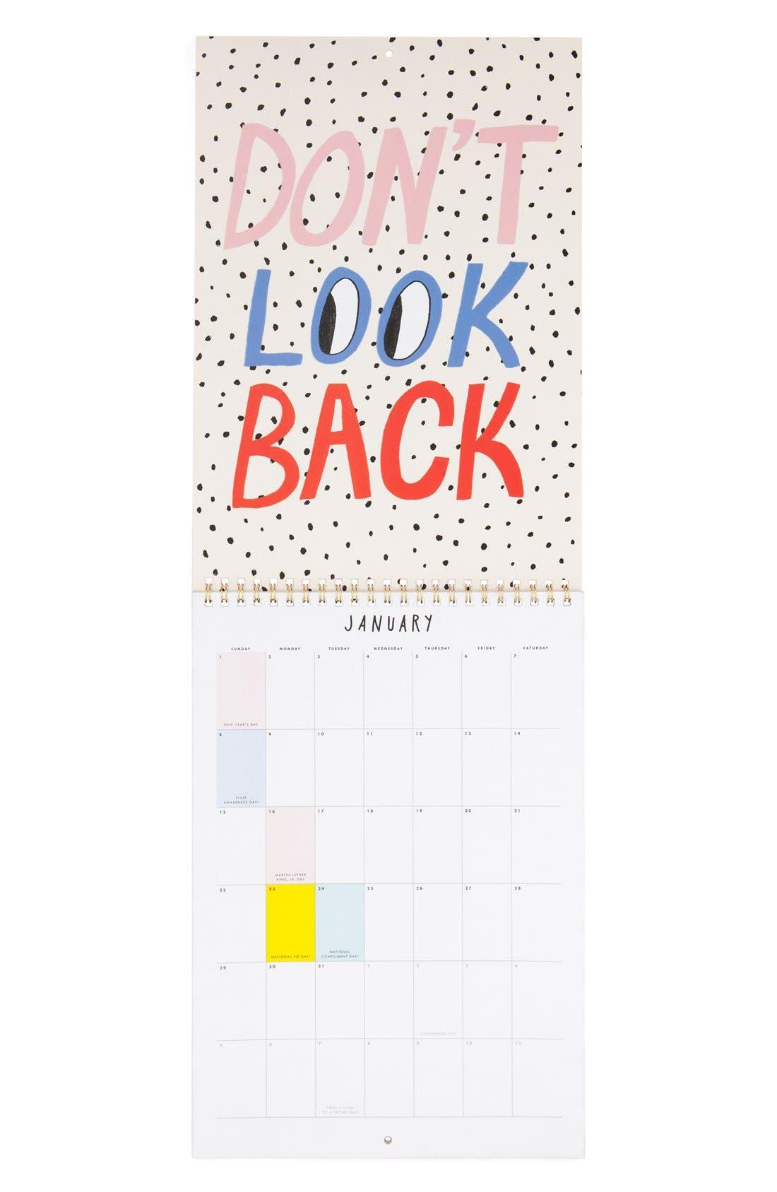 Alternate Image 2  - ban.do 'Best Year Ever' 2017 Wall Calendar