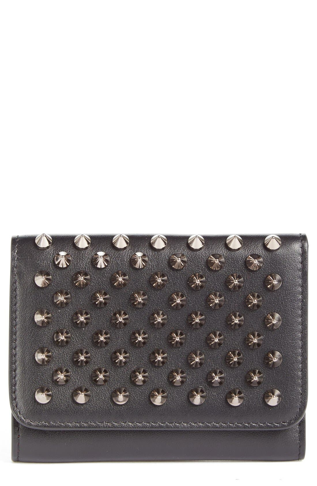 Alternate Image 1 Selected - Christian Louboutin Macaron Leather French Wallet