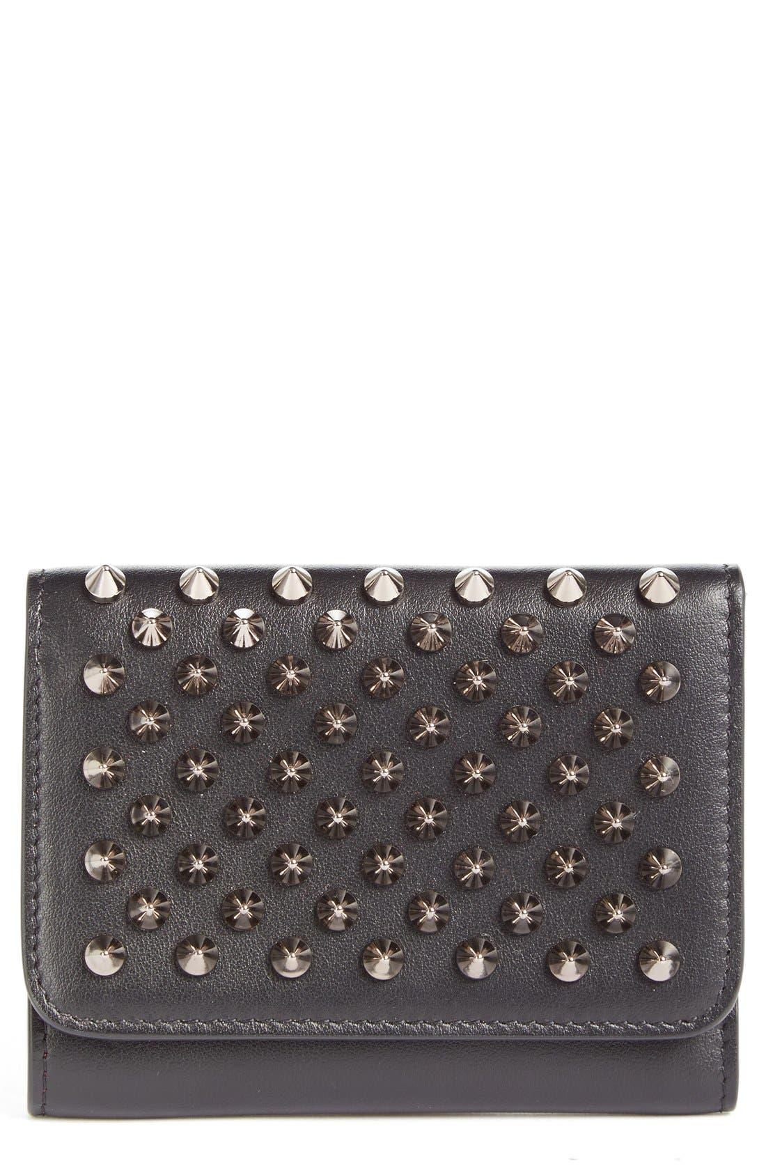 Main Image - Christian Louboutin Macaron Leather French Wallet