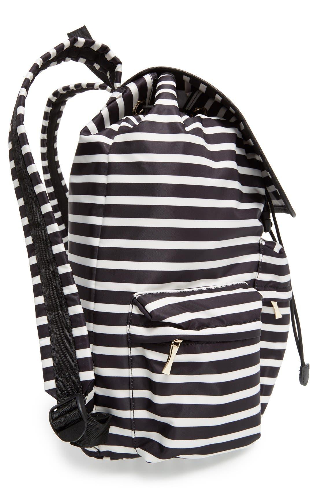 Alternate Image 5  - kate spade new york 'classic - clay' nylon backpack