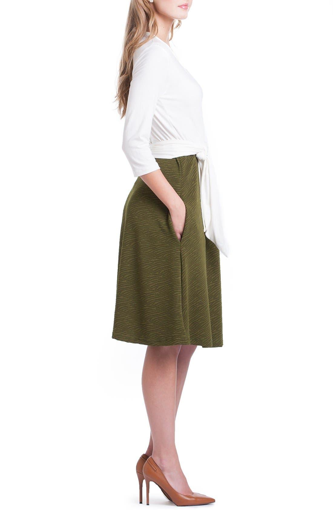 Alternate Image 4  - Lilac Clothing Abby Maternity/Nursing Dress