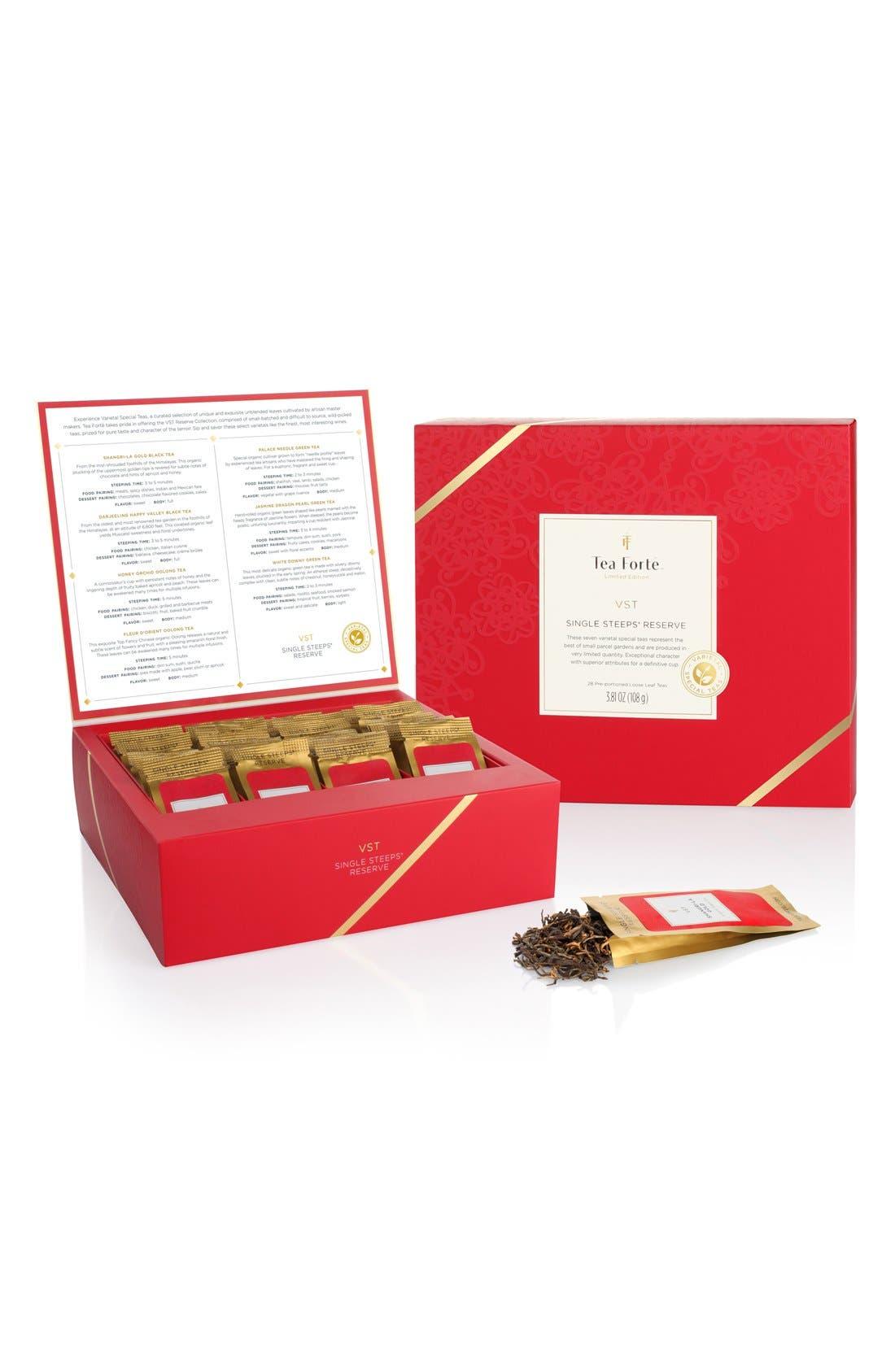 Tea Forté 'VST - Single Steeps Reserve' Loose Tea Chest