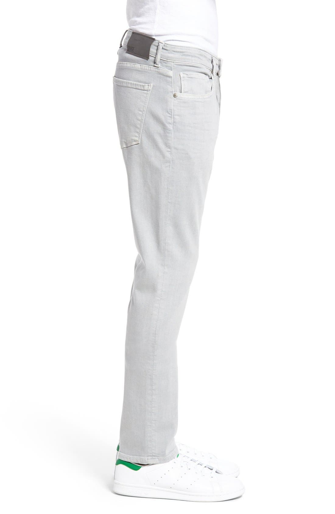 Alternate Image 3  - PAIGE Federal Slim Straight Leg Jeans (Dusty Gray)