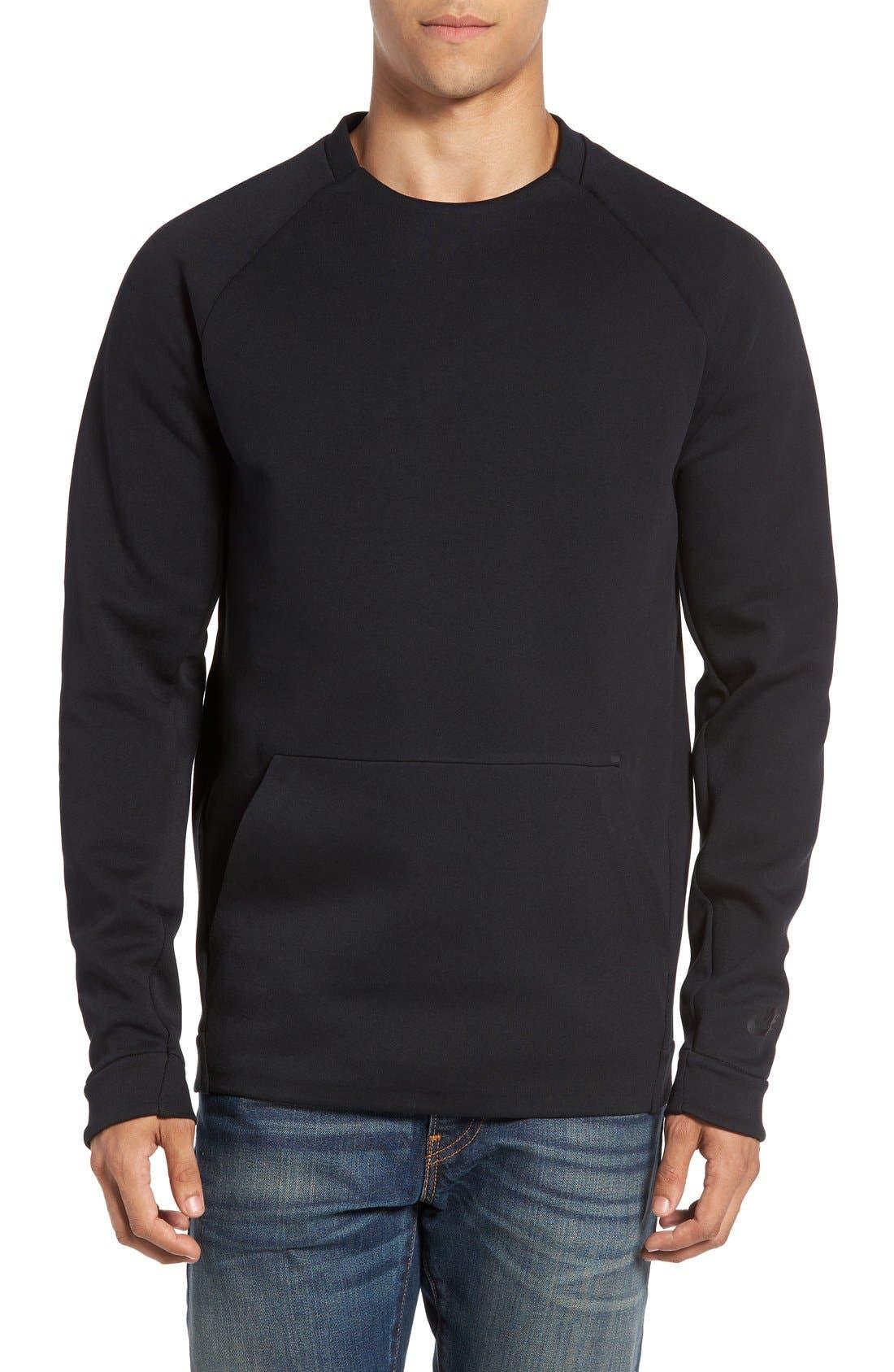 Alternate Image 1 Selected - Nike 'NSW Tech Fleece' Raglan Pullover