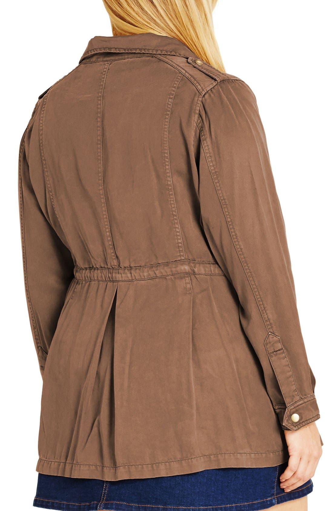 Alternate Image 2  - City Chic 'Adventure' Utility Jacket (Plus Size)