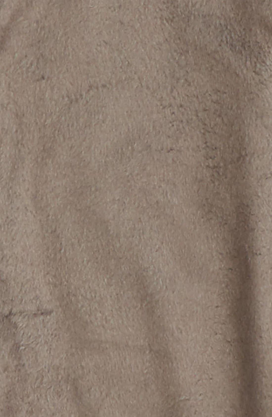 Alternate Image 2  - PJ Salvage Deer Fitted One-Piece Pajamas (Little Girls & Big Girls)