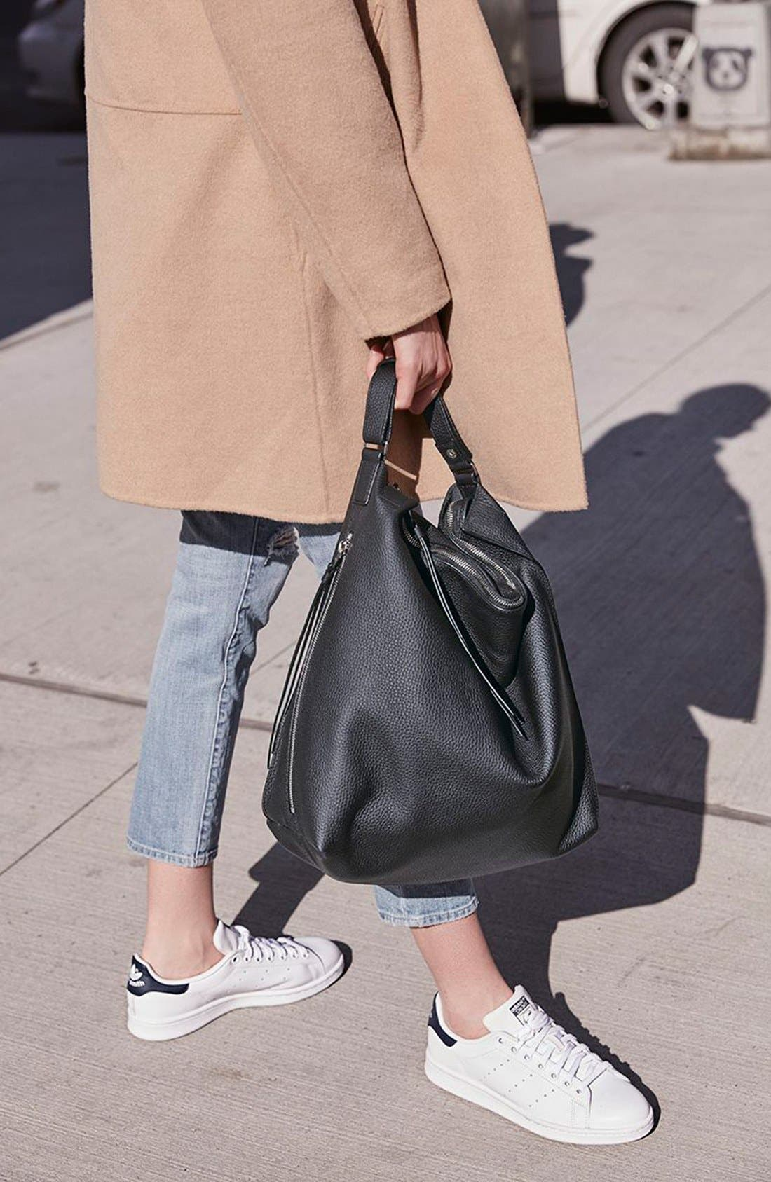 Alternate Image 7  - ALLSAINTS Kita Convertible Leather Backpack