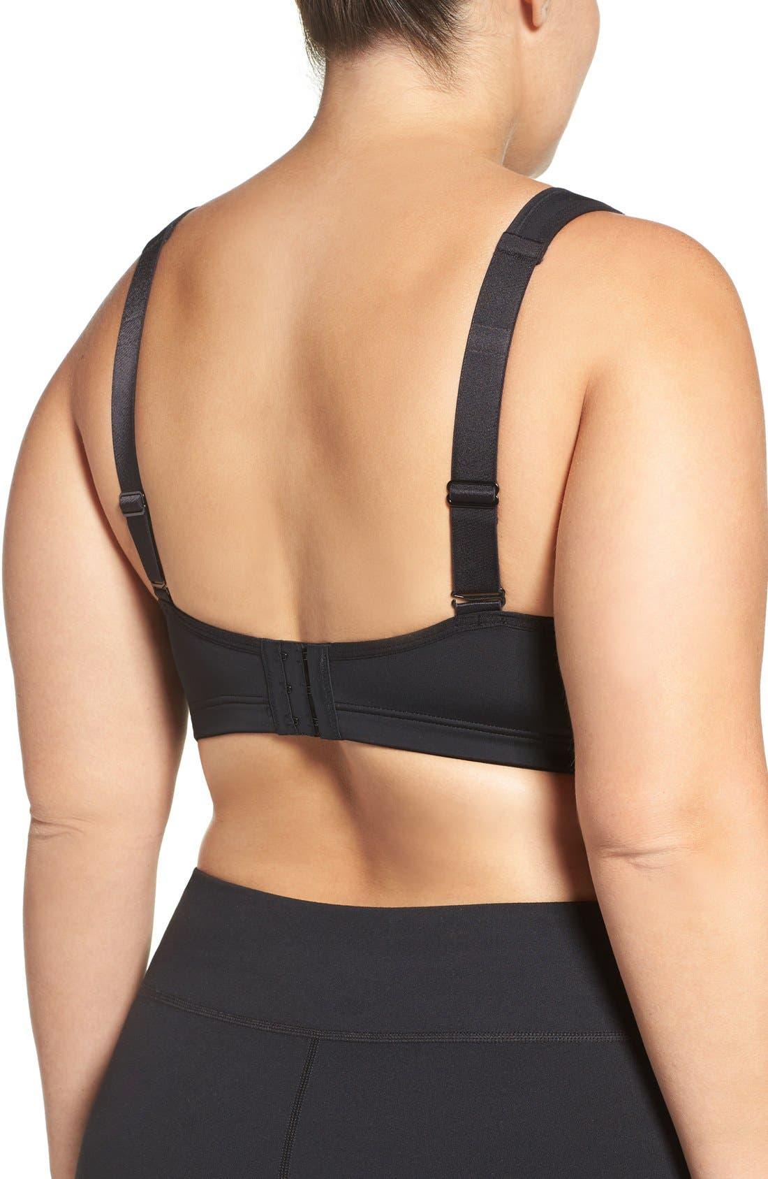 Alternate Image 2  - Marika Curves 'Gabriella' Underwire Sports Bra (Plus Size)