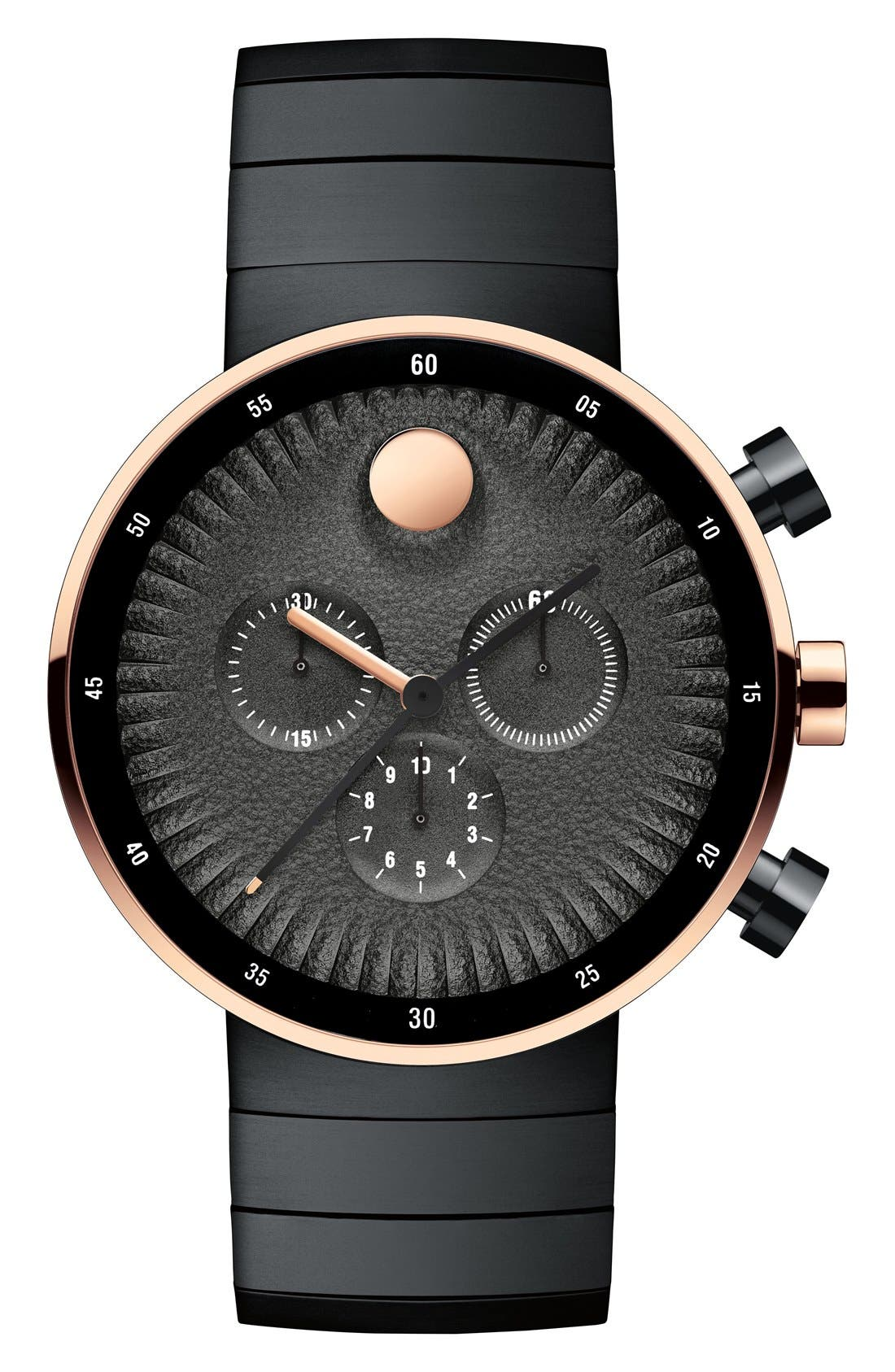 Alternate Image 1 Selected - Movado 'Edge' Chronograph Bracelet Watch, 40mm