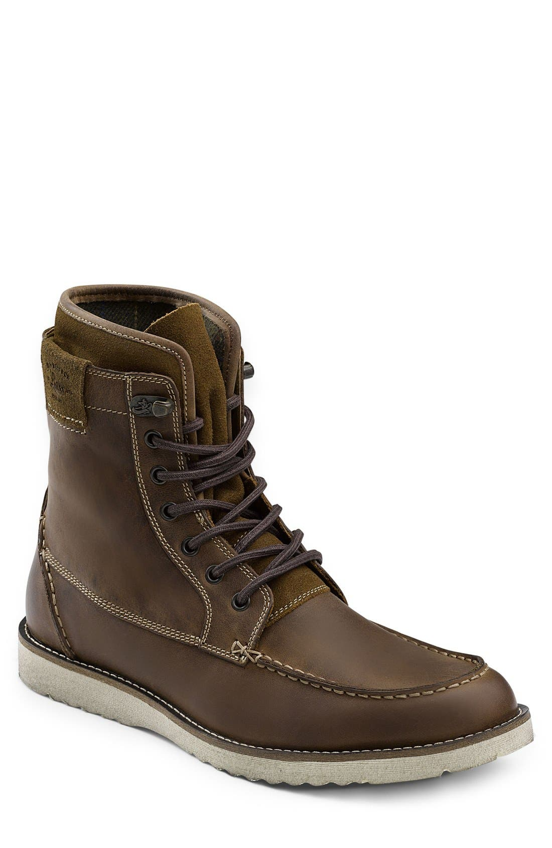 Moc Toe Boot,                         Main,                         color, Dark Tan
