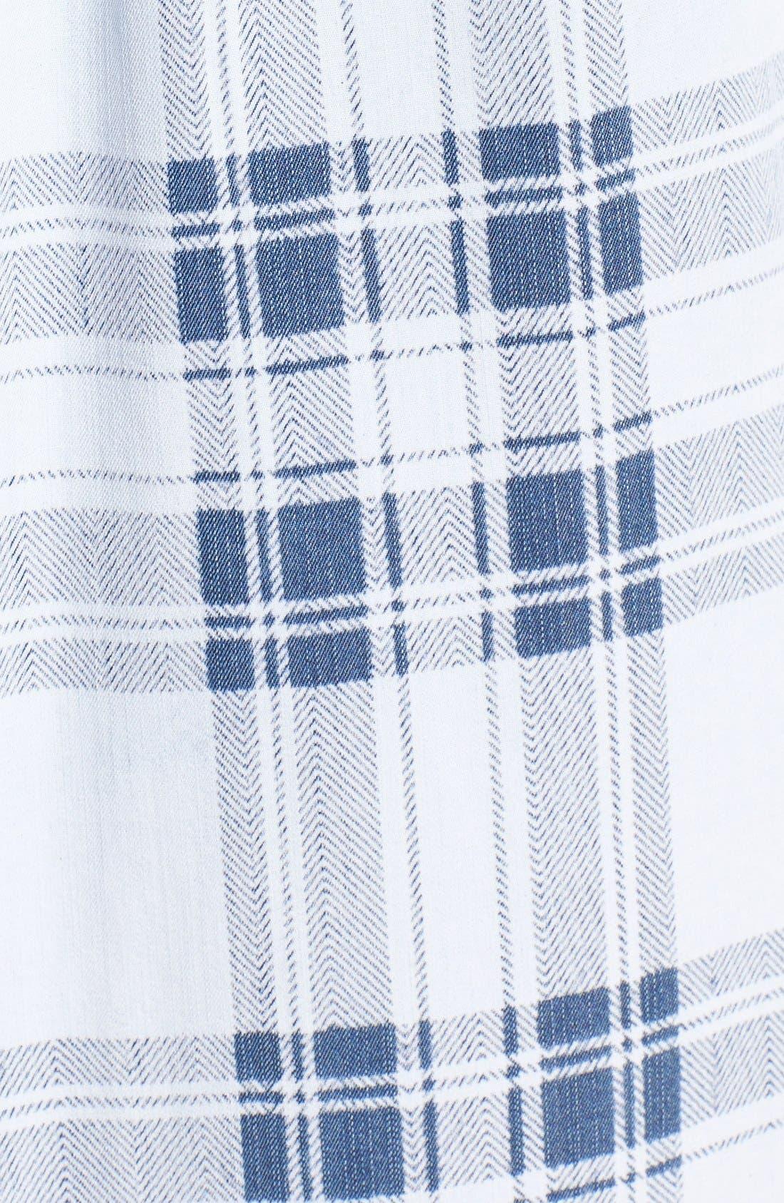 Carter Plaid Shirt,                             Alternate thumbnail 5, color,                             Pigment Plaid