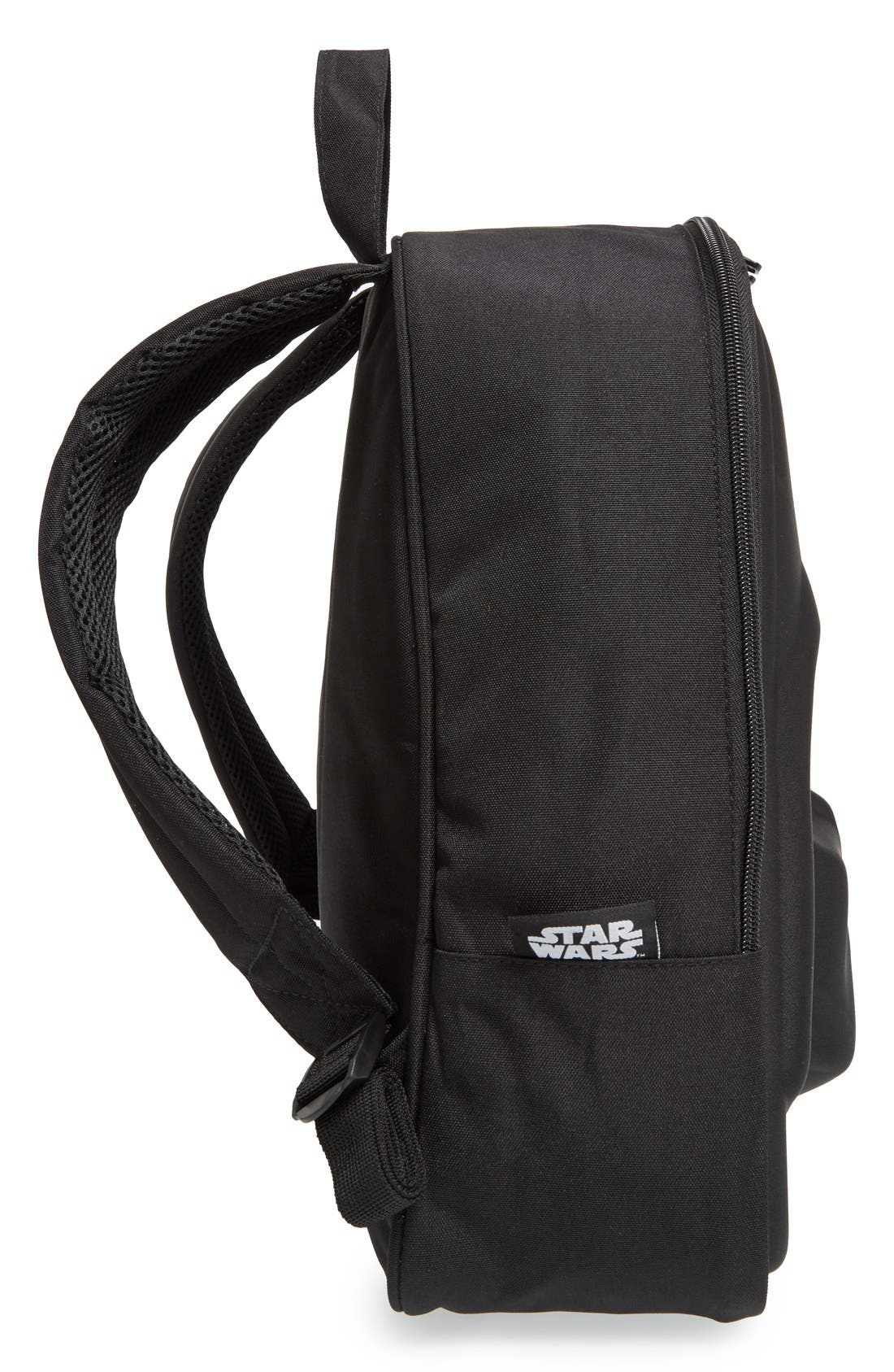 'Star Wars<sup>™</sup> - Darth Vader' Backpack,                             Alternate thumbnail 3, color,                             Black