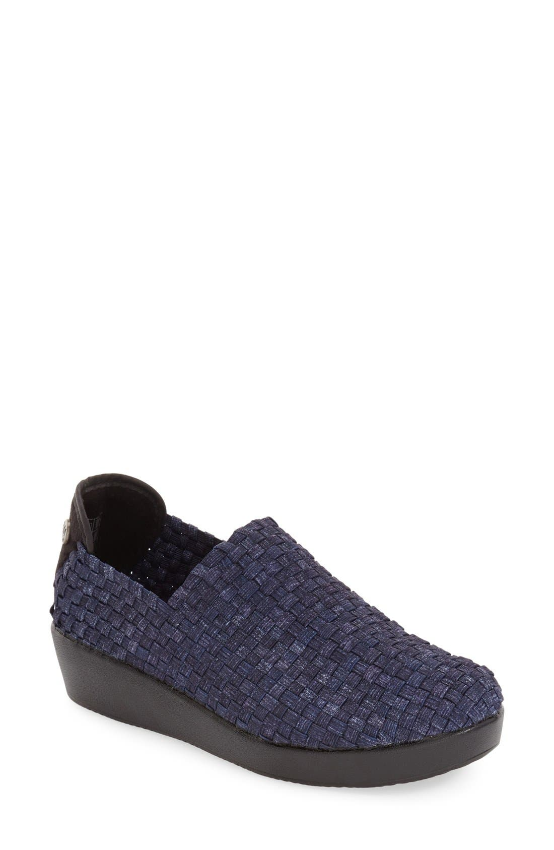 bernie mev. 'Cha Cha' Wedge Slip-On (Women)