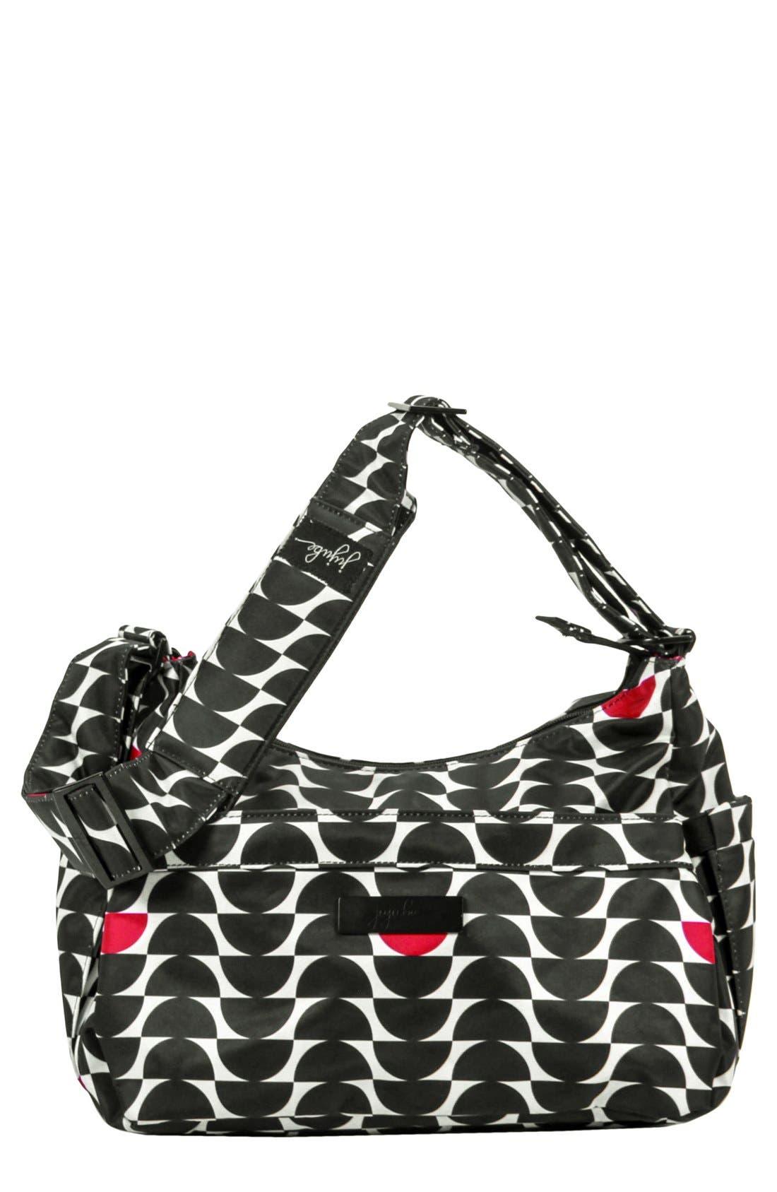 'HoboBe' Diaper Bag,                             Main thumbnail 1, color,                             Black Widow