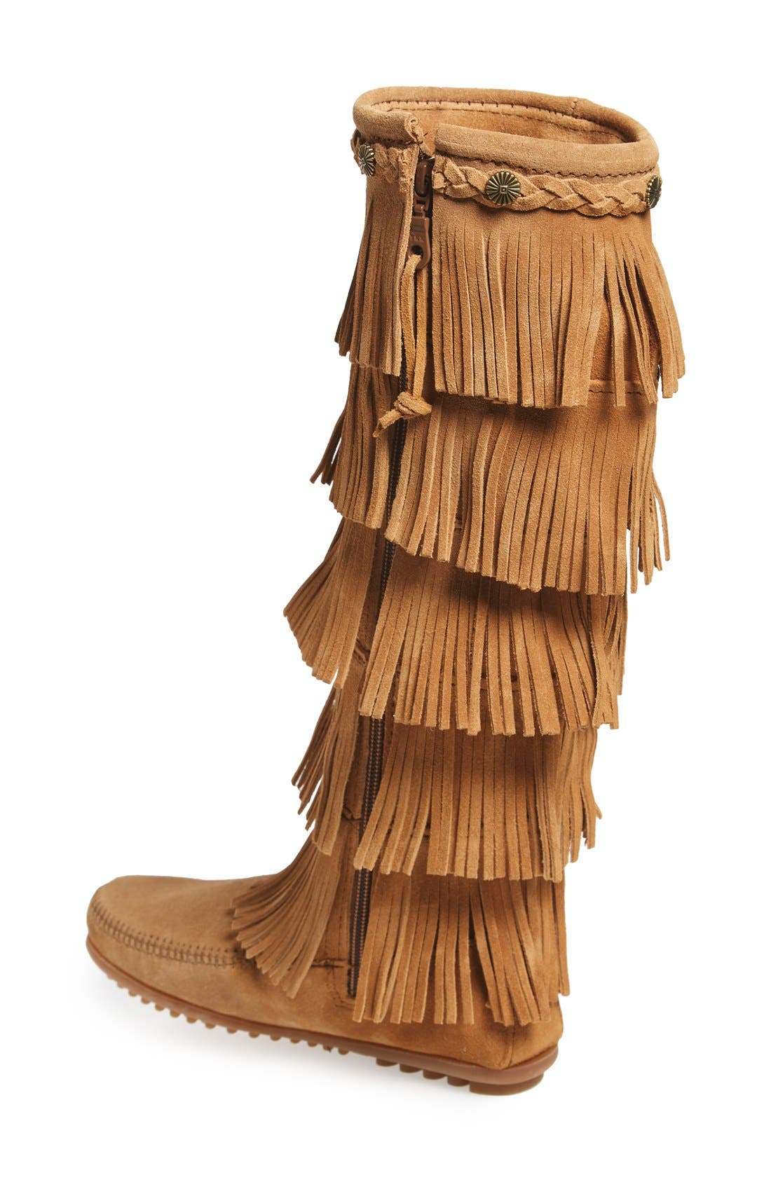 Alternate Image 2  - Minnetonka '5 Layer Fringe' Boot