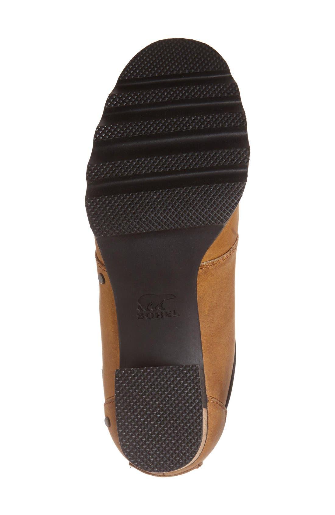 'Addington' Waterproof Chelsea Boot,                             Alternate thumbnail 4, color,                             Autumn Bronze