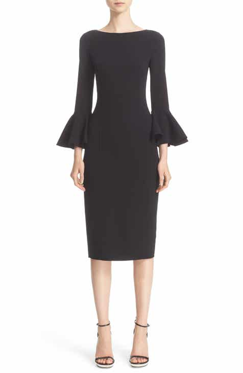 Michael Kors Bell Sleeve Sheath Dress by MICHAEL KORS
