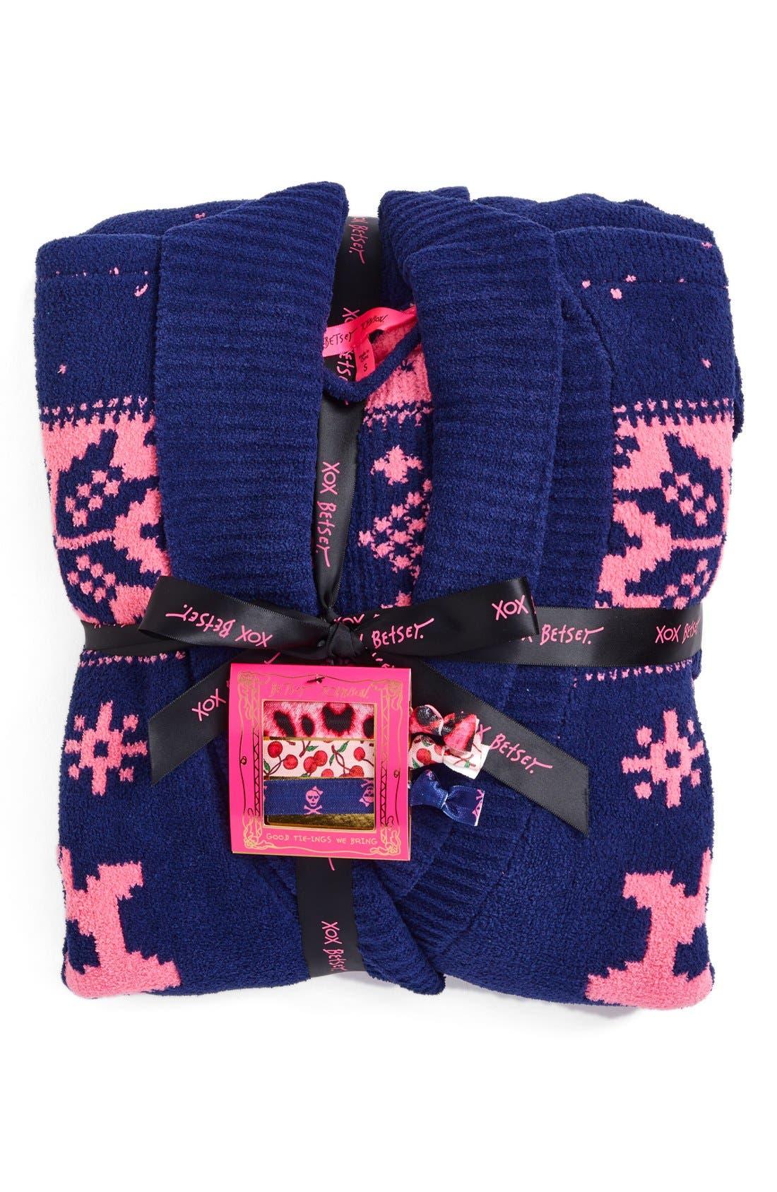 Alternate Image 2  - Betsey Johnson Sweater Robe