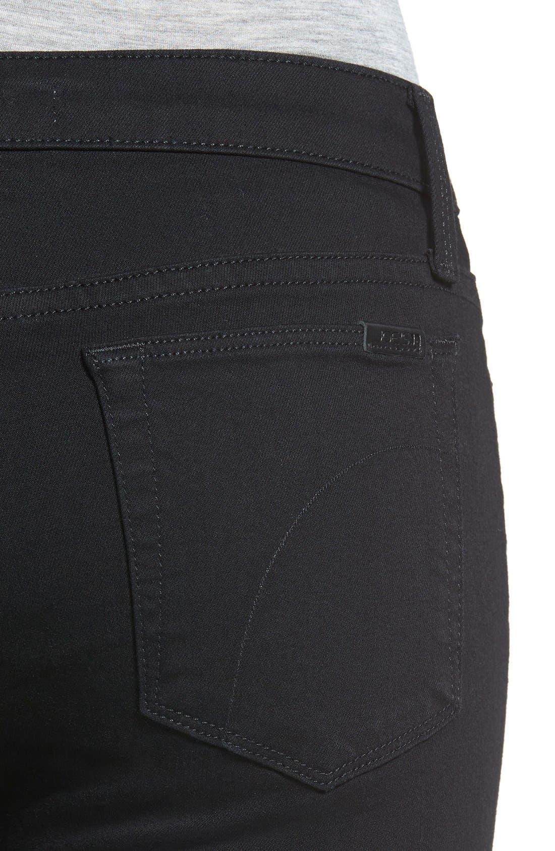 'Flawless - Twiggy' Skinny Jeans,                             Alternate thumbnail 4, color,                             Regan